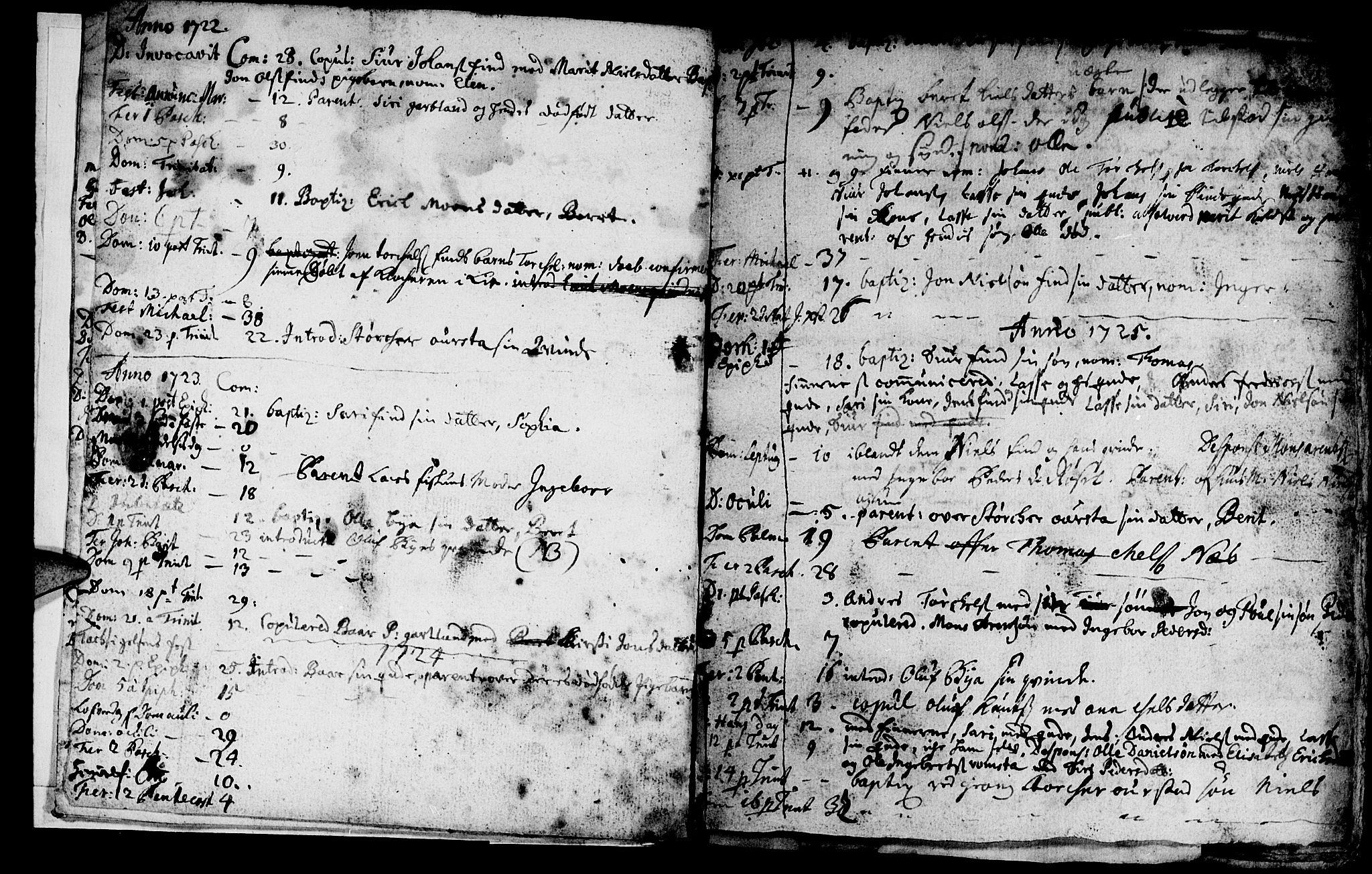 SAT, Ministerialprotokoller, klokkerbøker og fødselsregistre - Nord-Trøndelag, 759/L0525: Ministerialbok nr. 759A01, 1706-1748, s. 5