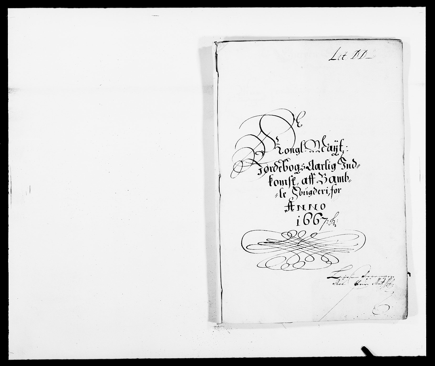 RA, Rentekammeret inntil 1814, Reviderte regnskaper, Fogderegnskap, R34/L2039: Fogderegnskap Bamble, 1662-1669, s. 275