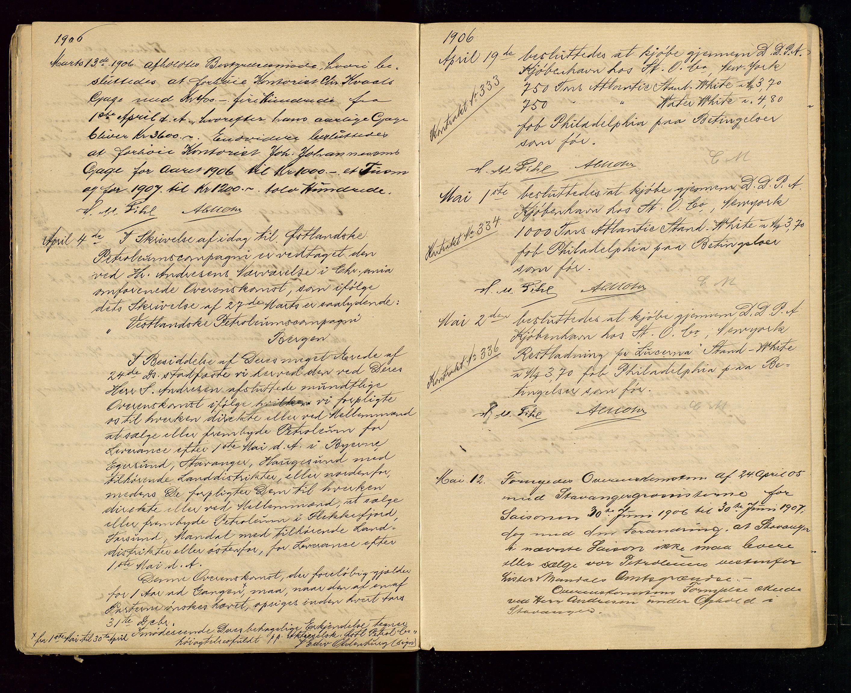 SAST, PA 1533 - A/S Vestlandske Petroleumscompani, A/Aa/L0001: Generalforsamlinger og styreprotokoller, 1890-1907, s. 61