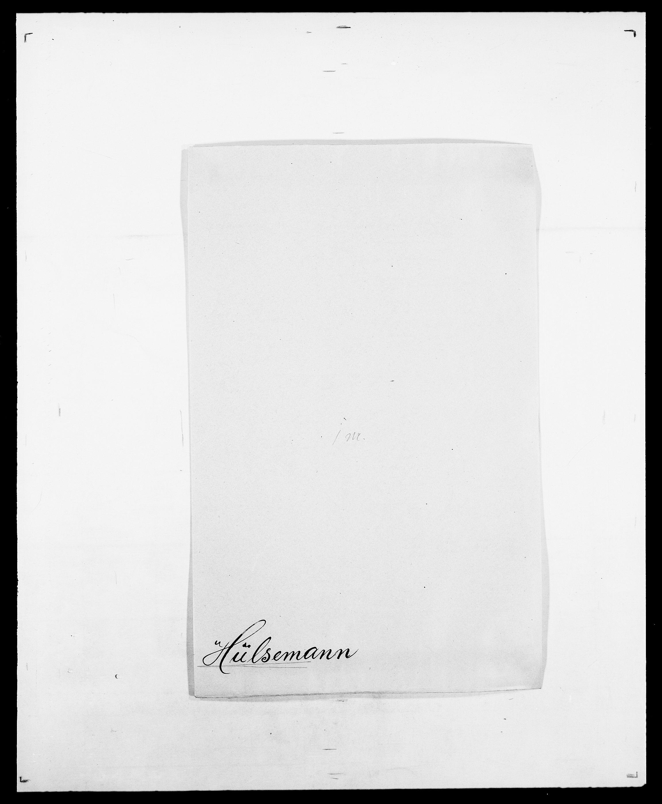 SAO, Delgobe, Charles Antoine - samling, D/Da/L0019: van der Hude - Joys, s. 280