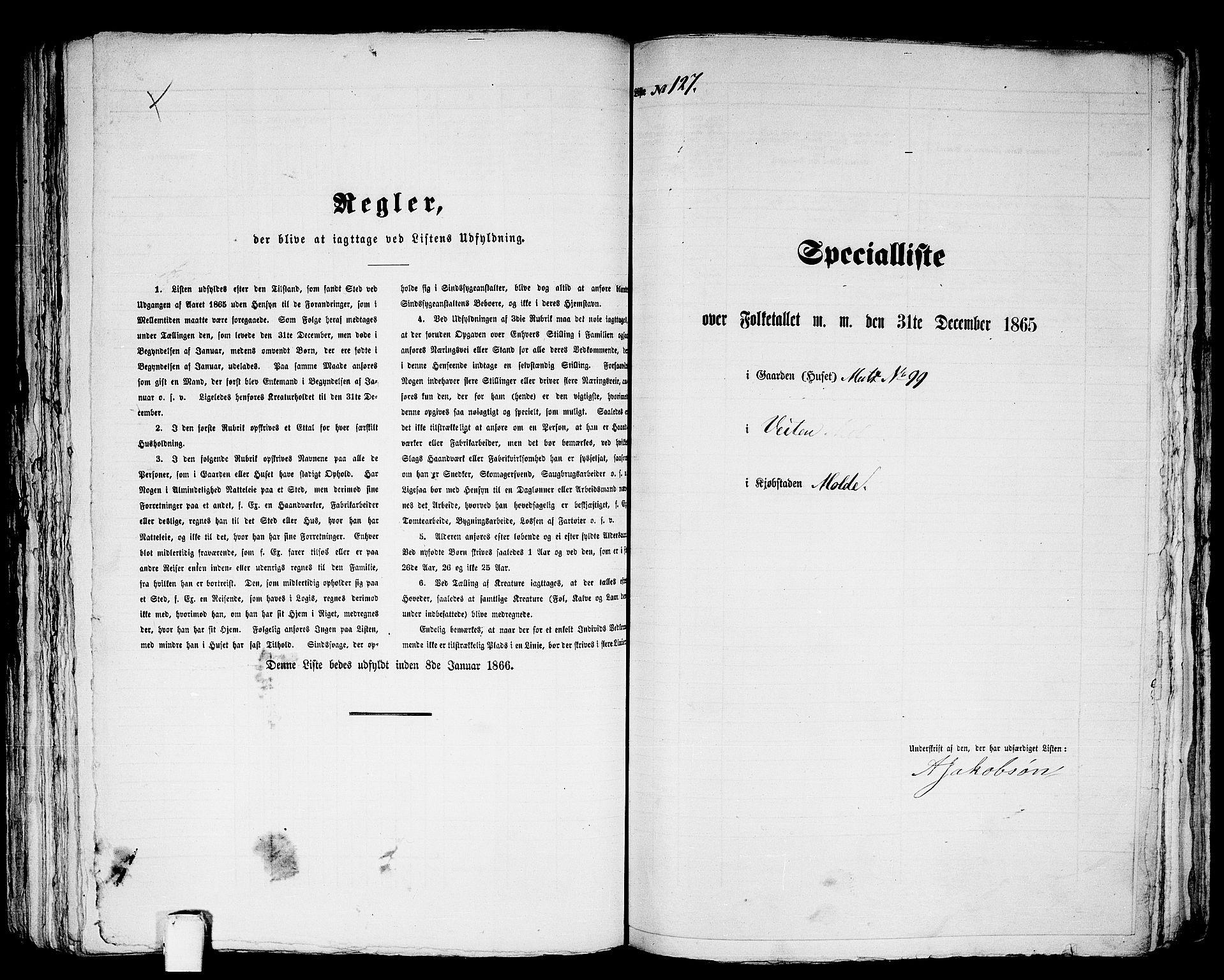 RA, Folketelling 1865 for 1502P Molde prestegjeld, 1865, s. 264