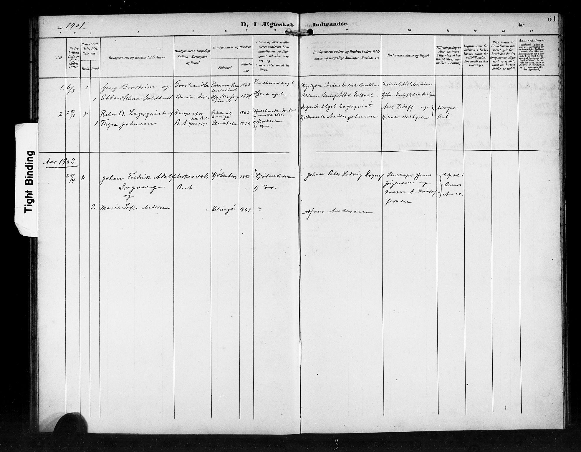 SAB, Den Norske Sjømannsmisjon i utlandet*, Ministerialbok nr. A 2, 1899-1919, s. 61