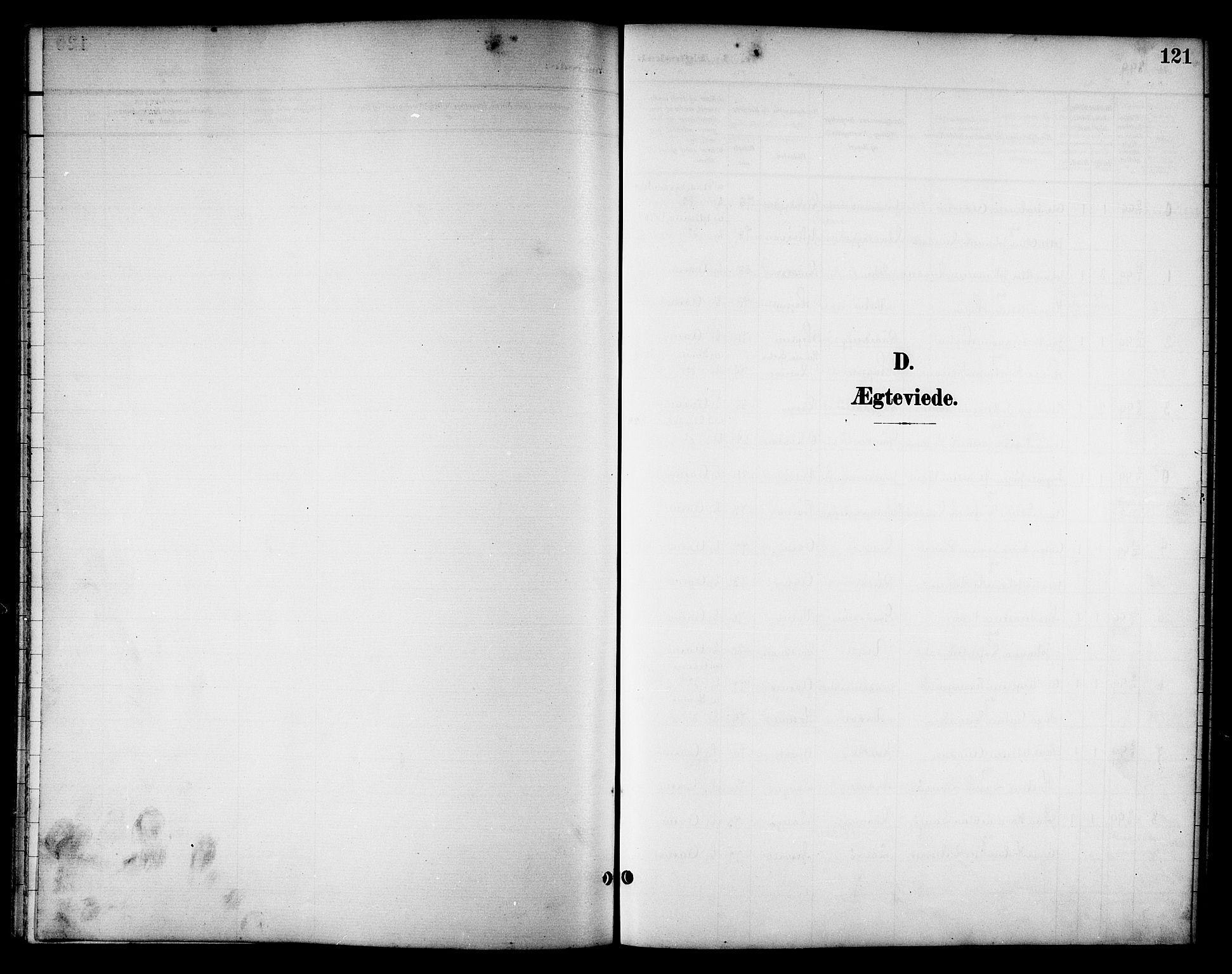 SAT, Ministerialprotokoller, klokkerbøker og fødselsregistre - Nord-Trøndelag, 714/L0135: Klokkerbok nr. 714C04, 1899-1918, s. 121