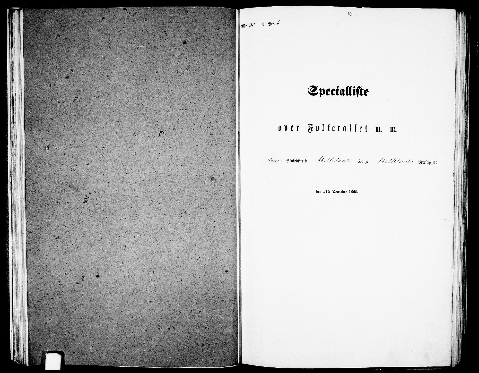 RA, Folketelling 1865 for 1115P Helleland prestegjeld, 1865, s. 38