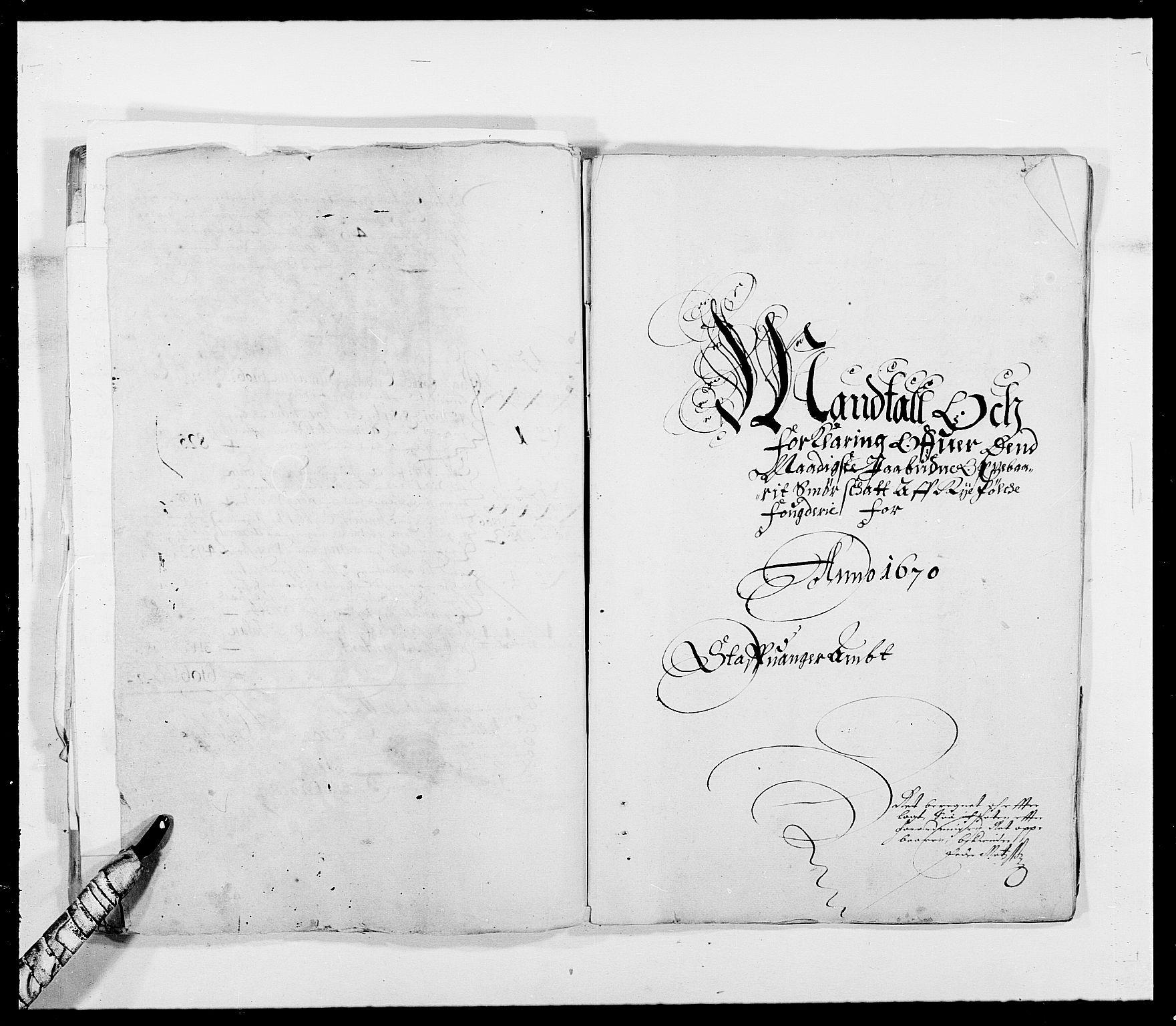 RA, Rentekammeret inntil 1814, Reviderte regnskaper, Fogderegnskap, R47/L2843: Fogderegnskap Ryfylke, 1670-1671, s. 434