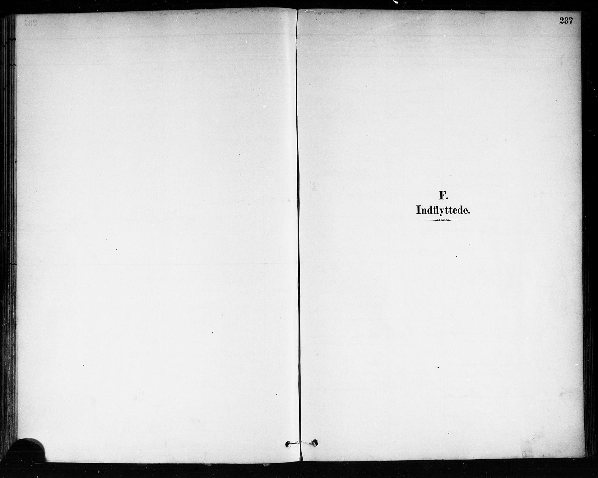 SAKO, Brevik kirkebøker, F/Fa/L0007: Ministerialbok nr. 7, 1882-1900, s. 237