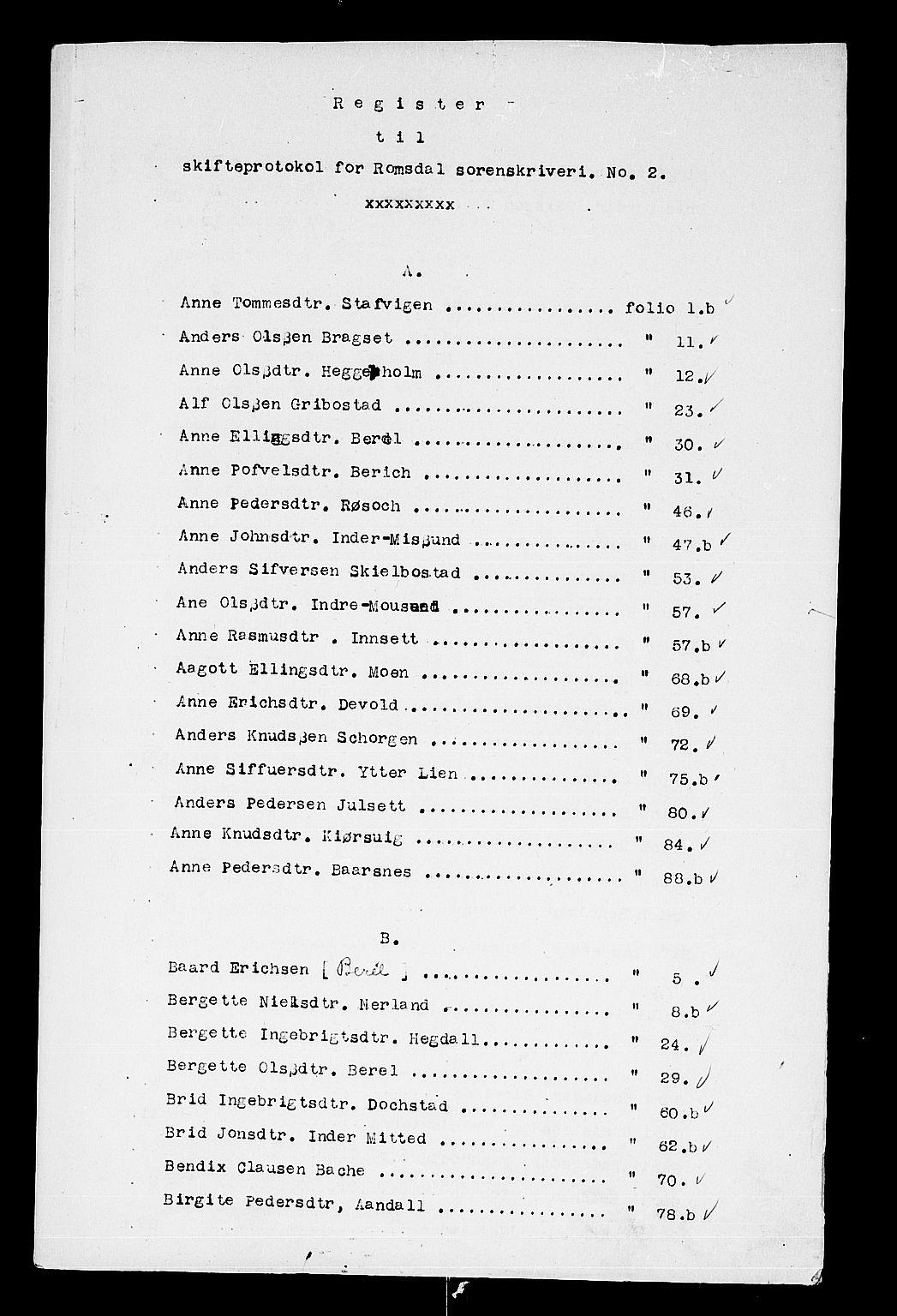 SAT, Romsdal sorenskriveri, 3/3A/L0002: Skifteprotokoll, 1683-1687