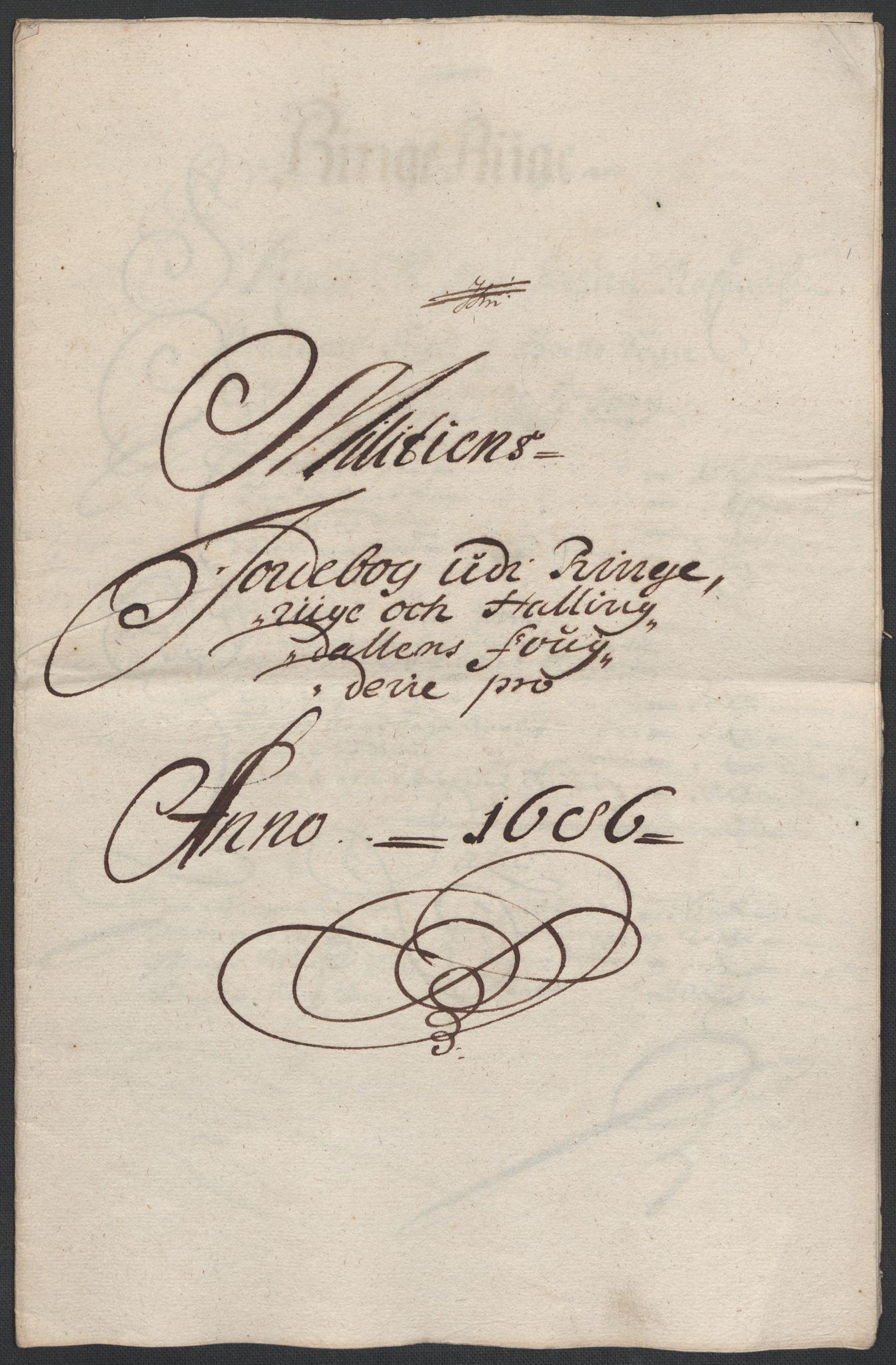 RA, Rentekammeret inntil 1814, Reviderte regnskaper, Fogderegnskap, R21/L1446: Fogderegnskap Ringerike og Hallingdal, 1683-1686, s. 519