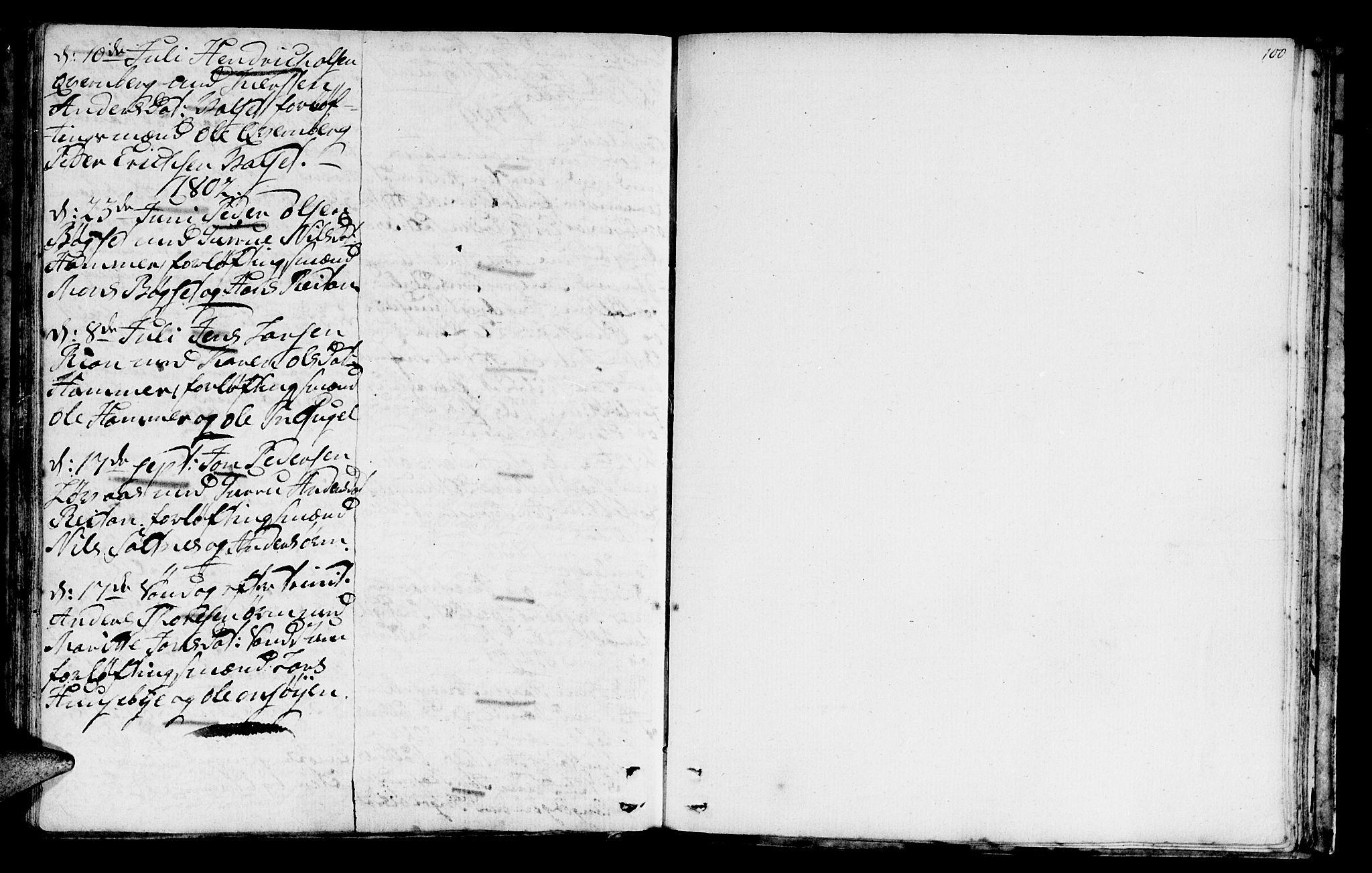 SAT, Ministerialprotokoller, klokkerbøker og fødselsregistre - Sør-Trøndelag, 666/L0784: Ministerialbok nr. 666A02, 1754-1802, s. 100