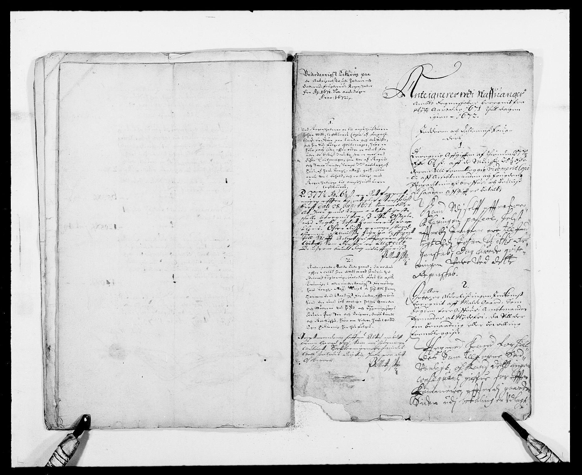 RA, Rentekammeret inntil 1814, Reviderte regnskaper, Fogderegnskap, R46/L2713: Fogderegnskap Jæren og Dalane, 1671-1672, s. 195