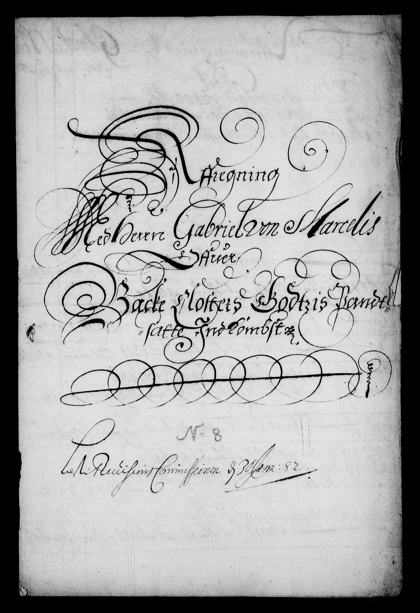 RA, Rentekammeret inntil 1814, Realistisk ordnet avdeling, On/L0006: [Jj 7]: Jordebøker og dokumenter over det sekulariserte kirke- og klostergodset:, 1658-1682, s. 63