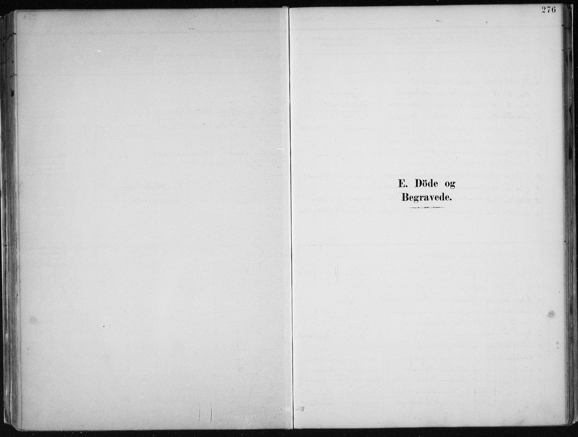 SAB, Hamre Sokneprestembete, H/Ha/Haa: Ministerialbok nr. B  1, 1882-1905, s. 276