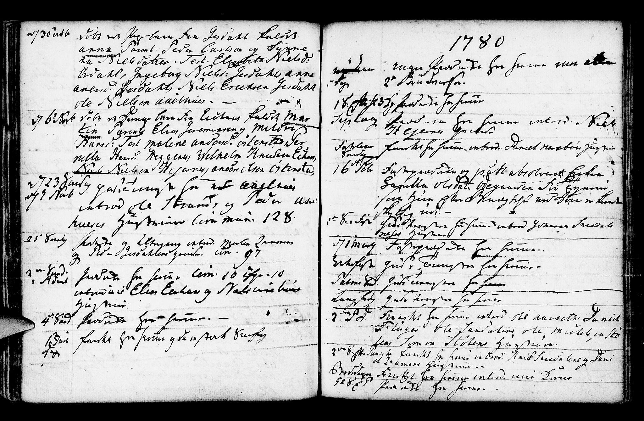 SAB, Jølster Sokneprestembete, Ministerialbok nr. A 3, 1748-1789, s. 172