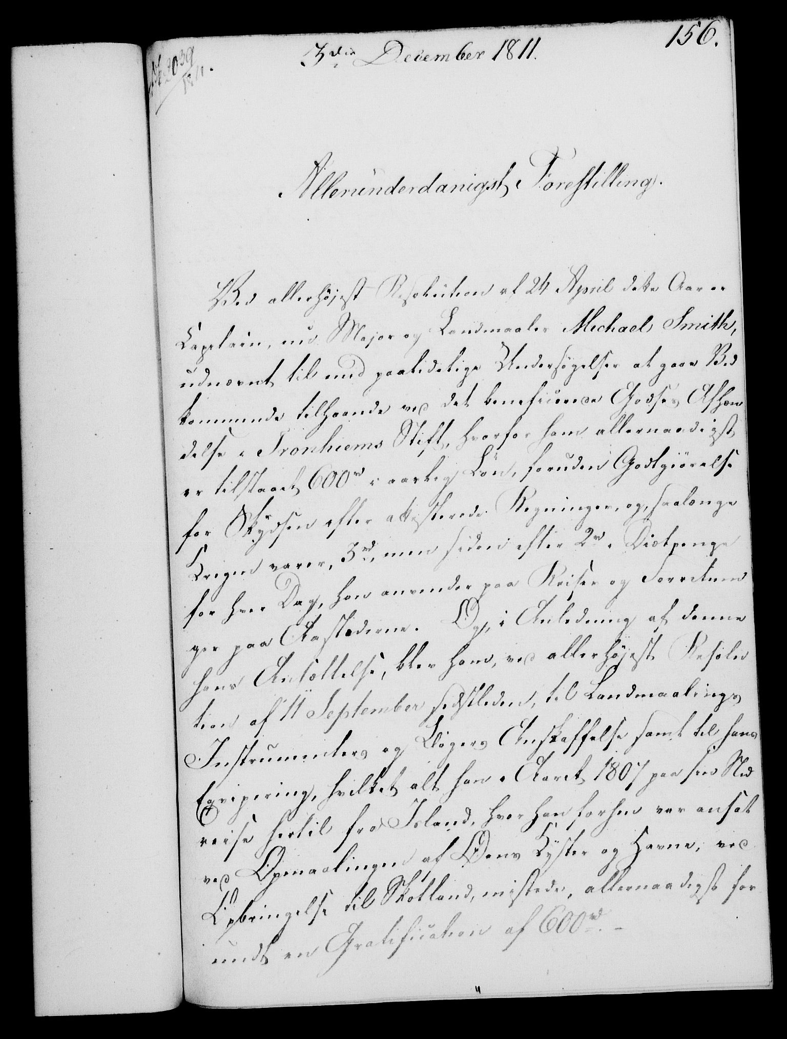RA, Rentekammeret, Kammerkanselliet, G/Gf/Gfa/L0093: Norsk relasjons- og resolusjonsprotokoll (merket RK 52.93), 1811, s. 625