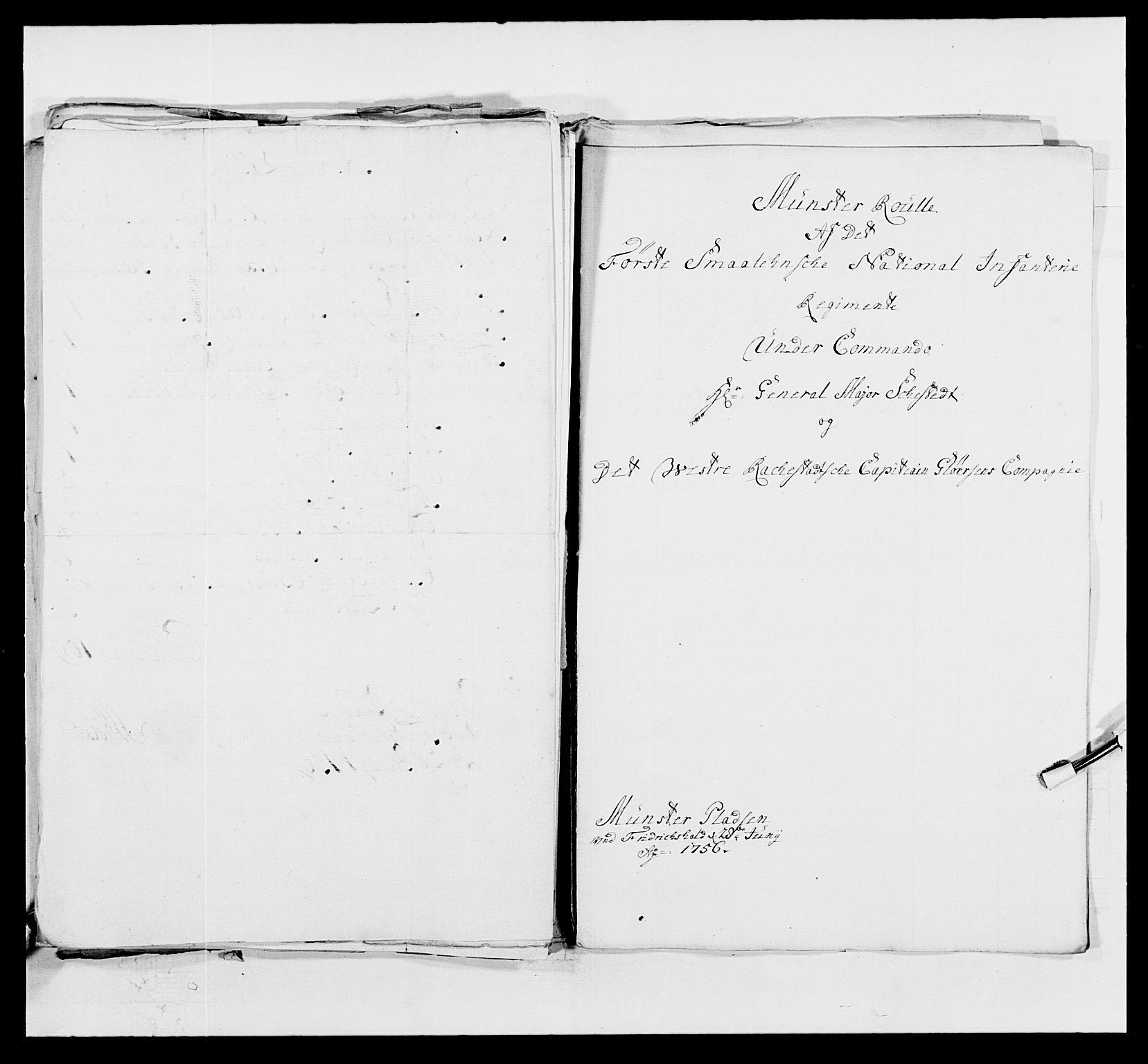 RA, Kommanderende general (KG I) med Det norske krigsdirektorium, E/Ea/L0495: 1. Smålenske regiment, 1732-1763, s. 625