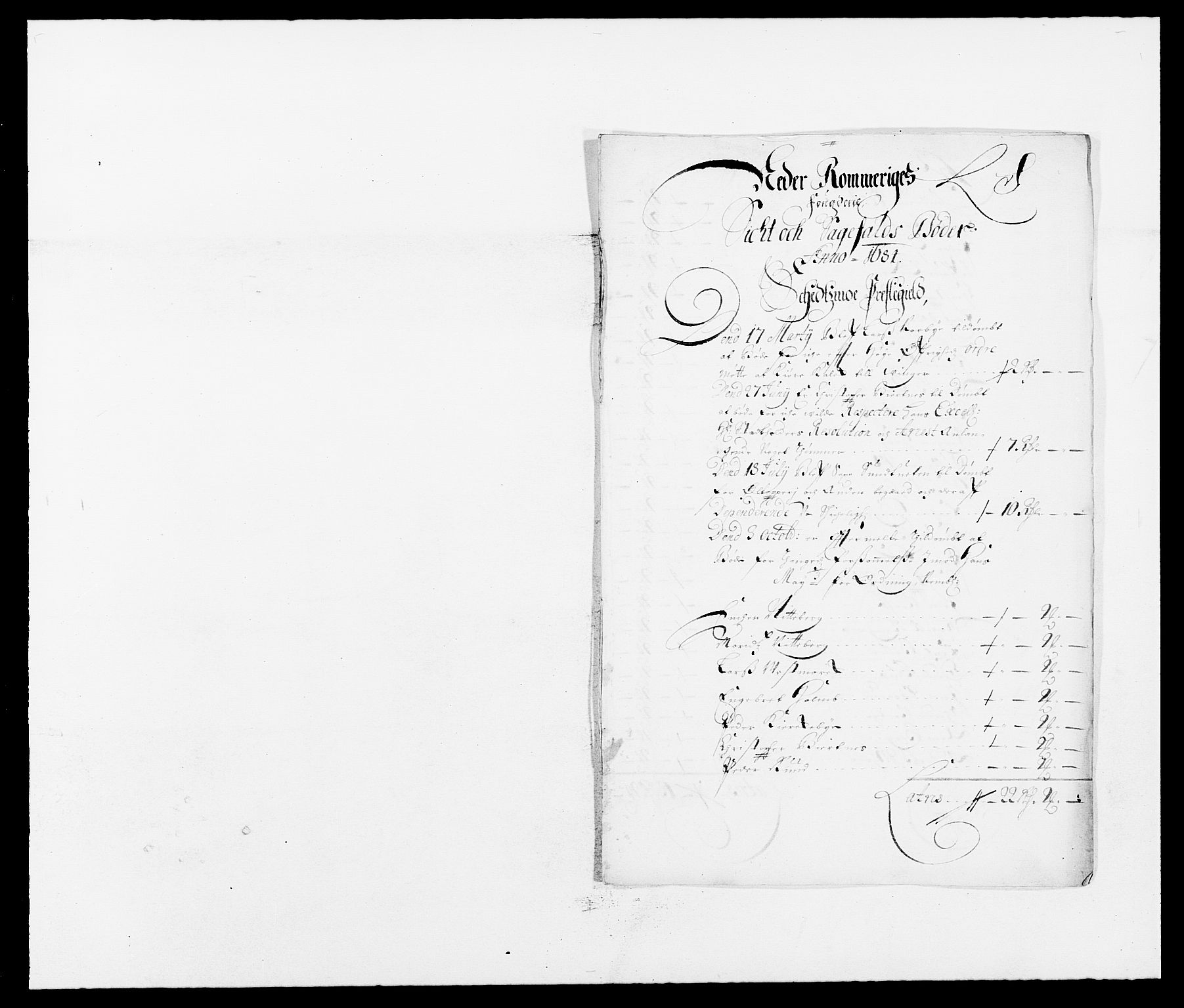 RA, Rentekammeret inntil 1814, Reviderte regnskaper, Fogderegnskap, R11/L0571: Fogderegnskap Nedre Romerike, 1683-1685, s. 203