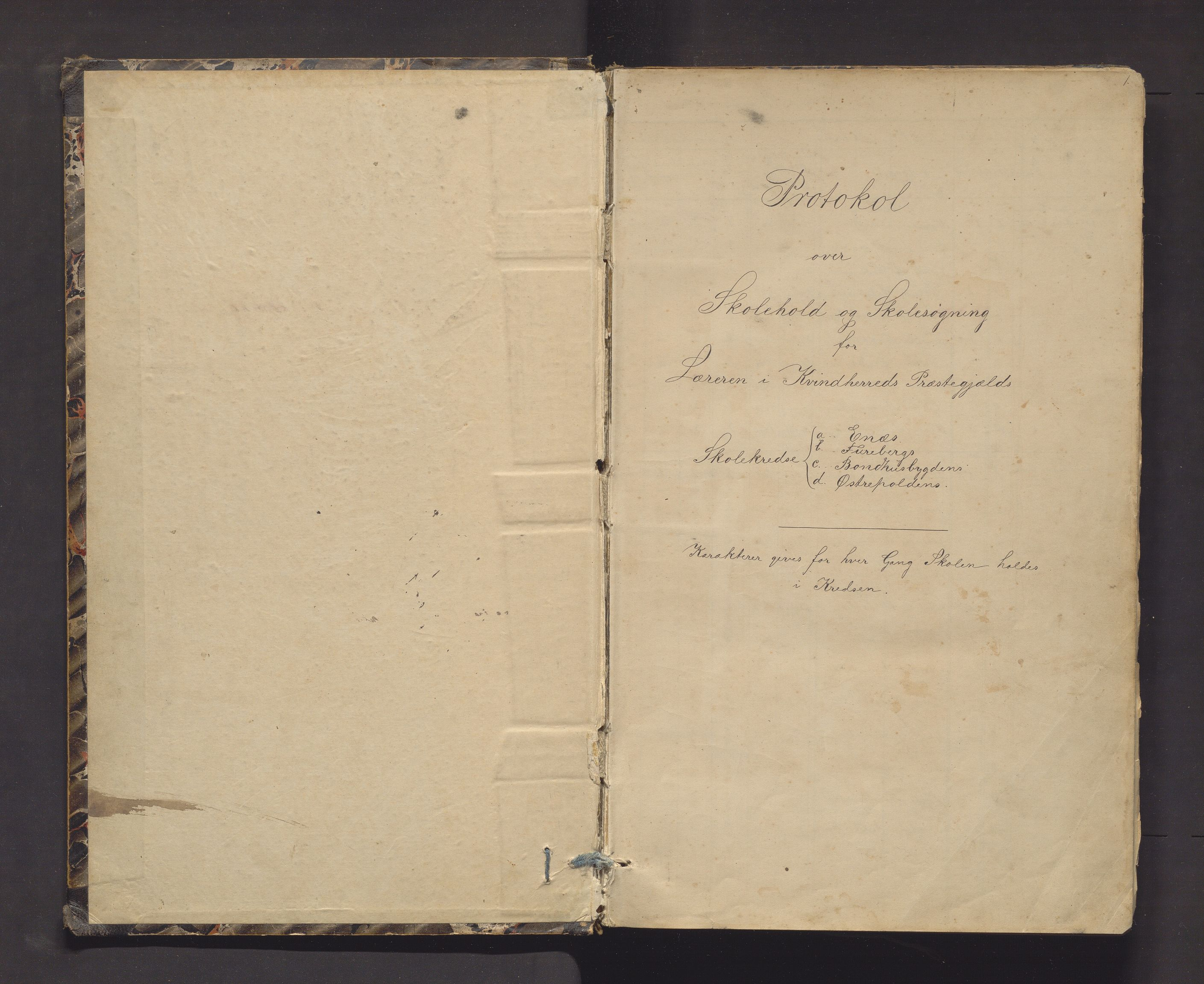 IKAH, Kvinnherad kommune. Barneskulane, F/Fd/L0006: Skuleprotokoll for Ænes, Fureberg og Tveitnes, Bondhusbygden og Austrepollen krinsar, 1877-1916