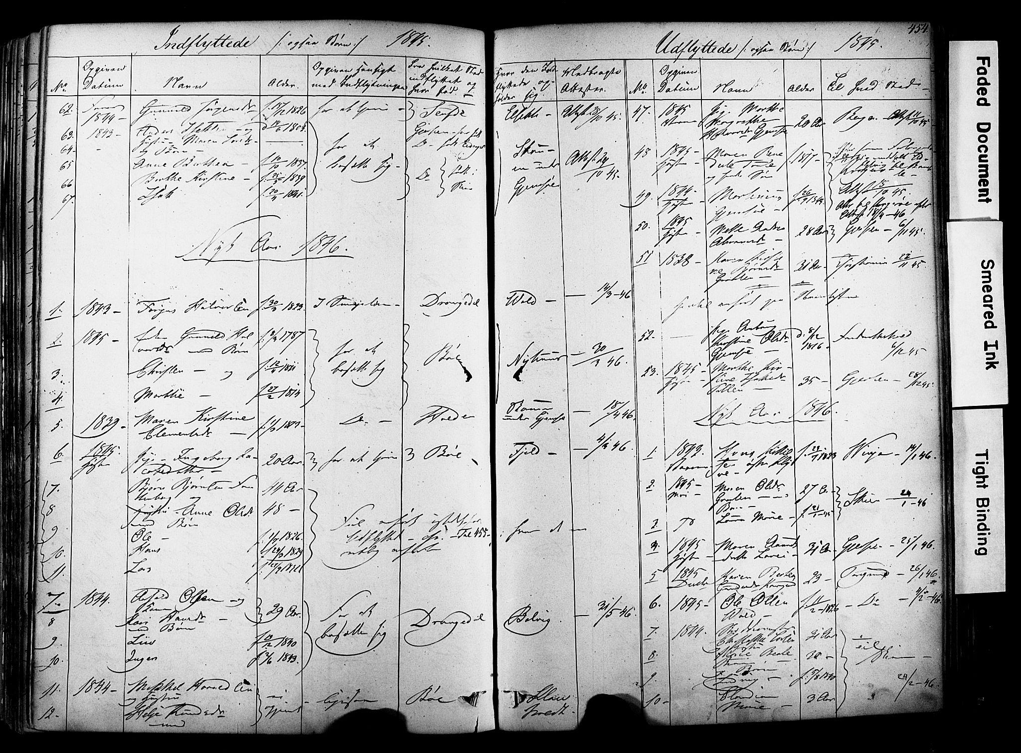 SAKO, Solum kirkebøker, F/Fa/L0006: Ministerialbok nr. I 6, 1844-1855, s. 454
