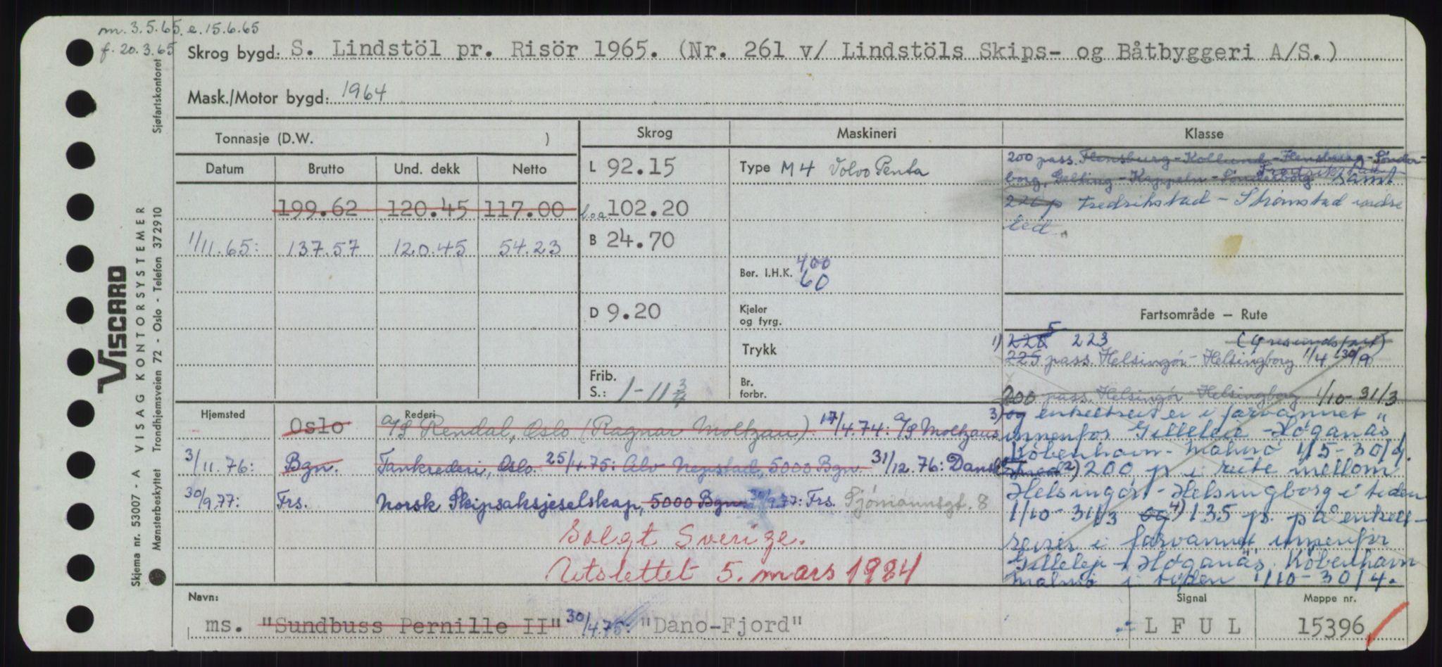 RA, Sjøfartsdirektoratet med forløpere, Skipsmålingen, H/Hd/L0008: Fartøy, C-D, s. 407