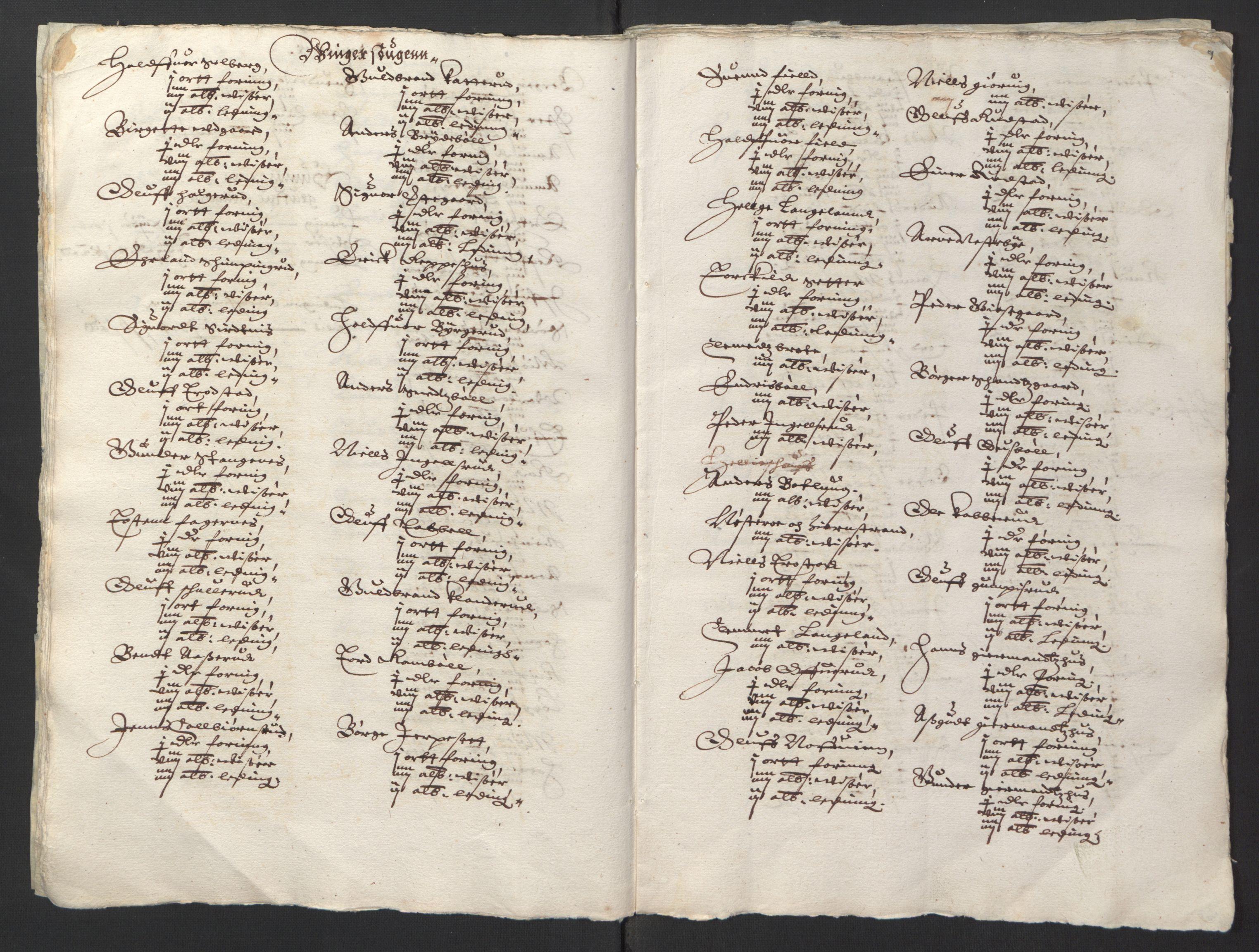 RA, Stattholderembetet 1572-1771, Ek/L0001: Jordebøker før 1624 og til utligning av garnisonsskatt 1624-1626:, 1624-1625, s. 106