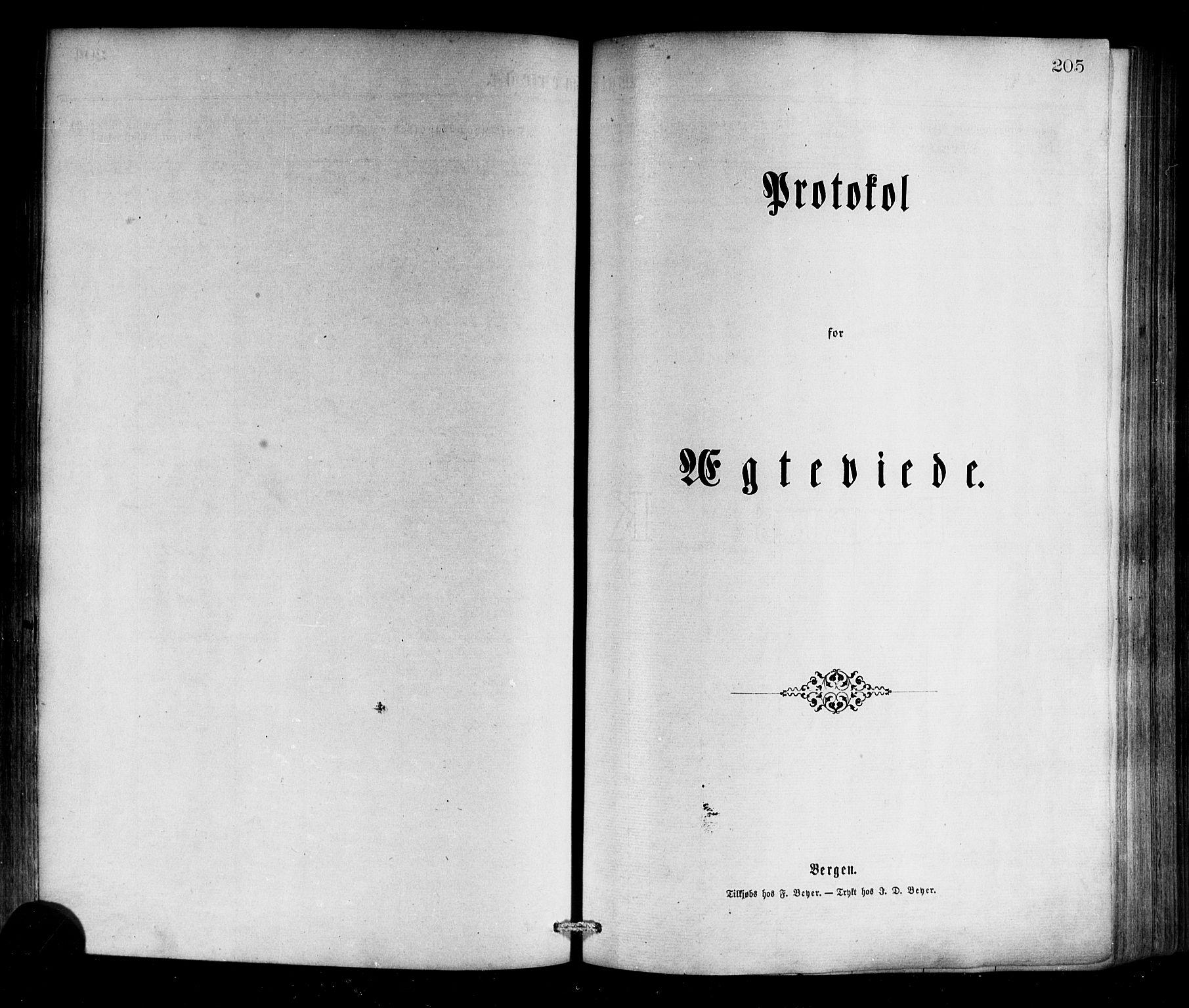 SAB, Selje sokneprestembete*, Ministerialbok nr. A 12, 1870-1880, s. 205