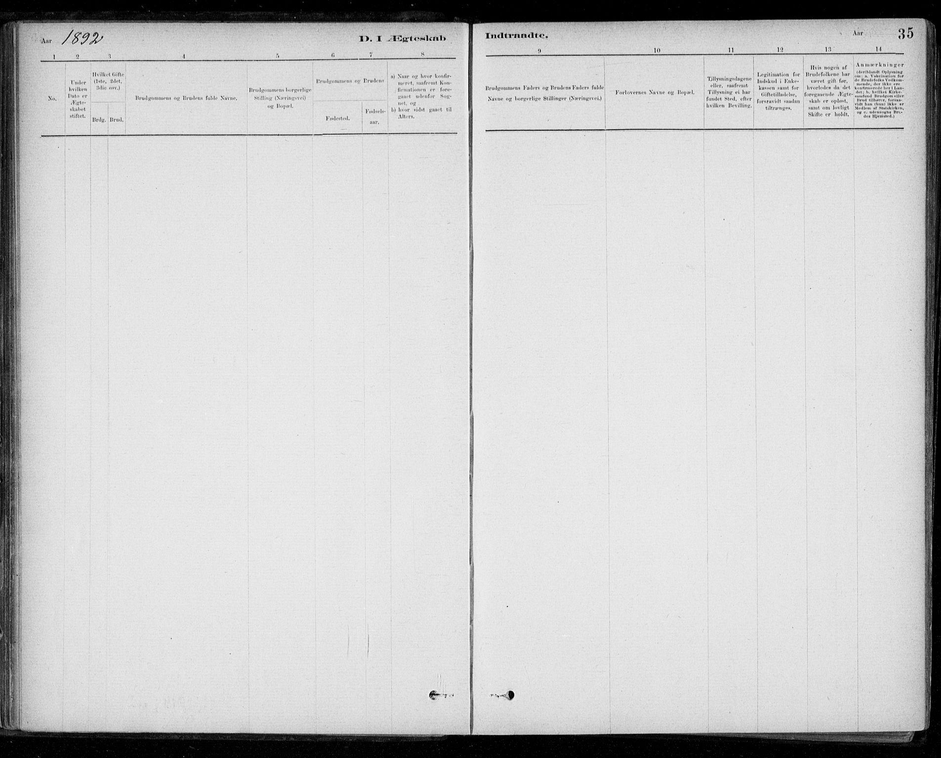 SAT, Ministerialprotokoller, klokkerbøker og fødselsregistre - Sør-Trøndelag, 668/L0810: Ministerialbok nr. 668A10, 1881-1894, s. 35