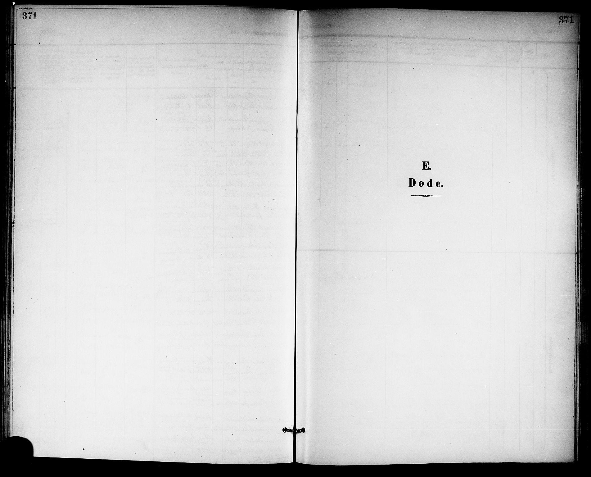 SAKO, Gjerpen kirkebøker, G/Ga/L0003: Klokkerbok nr. I 3, 1901-1919, s. 371
