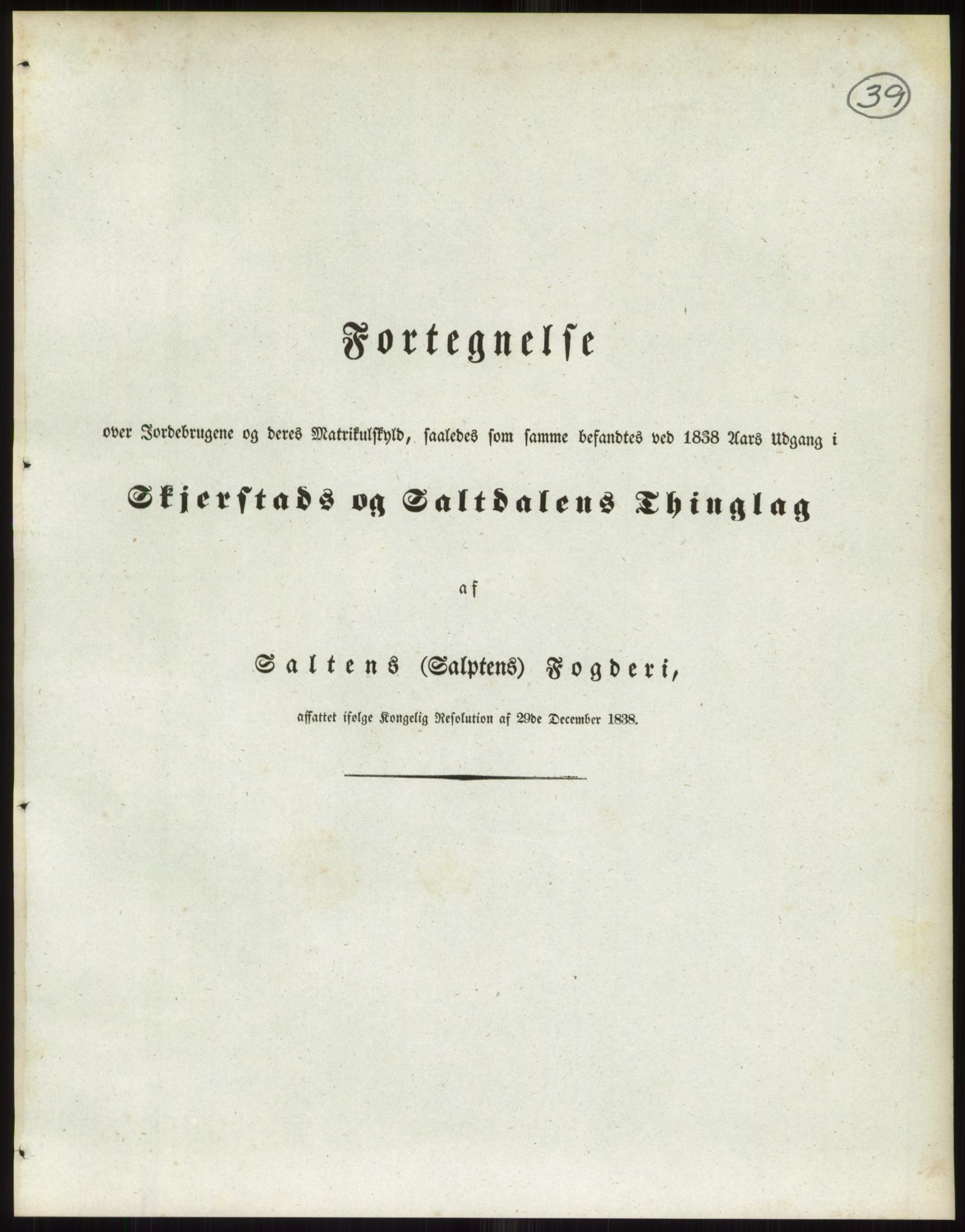 RA, 1838-matrikkelen (publikasjon)*, 1838, s. 39