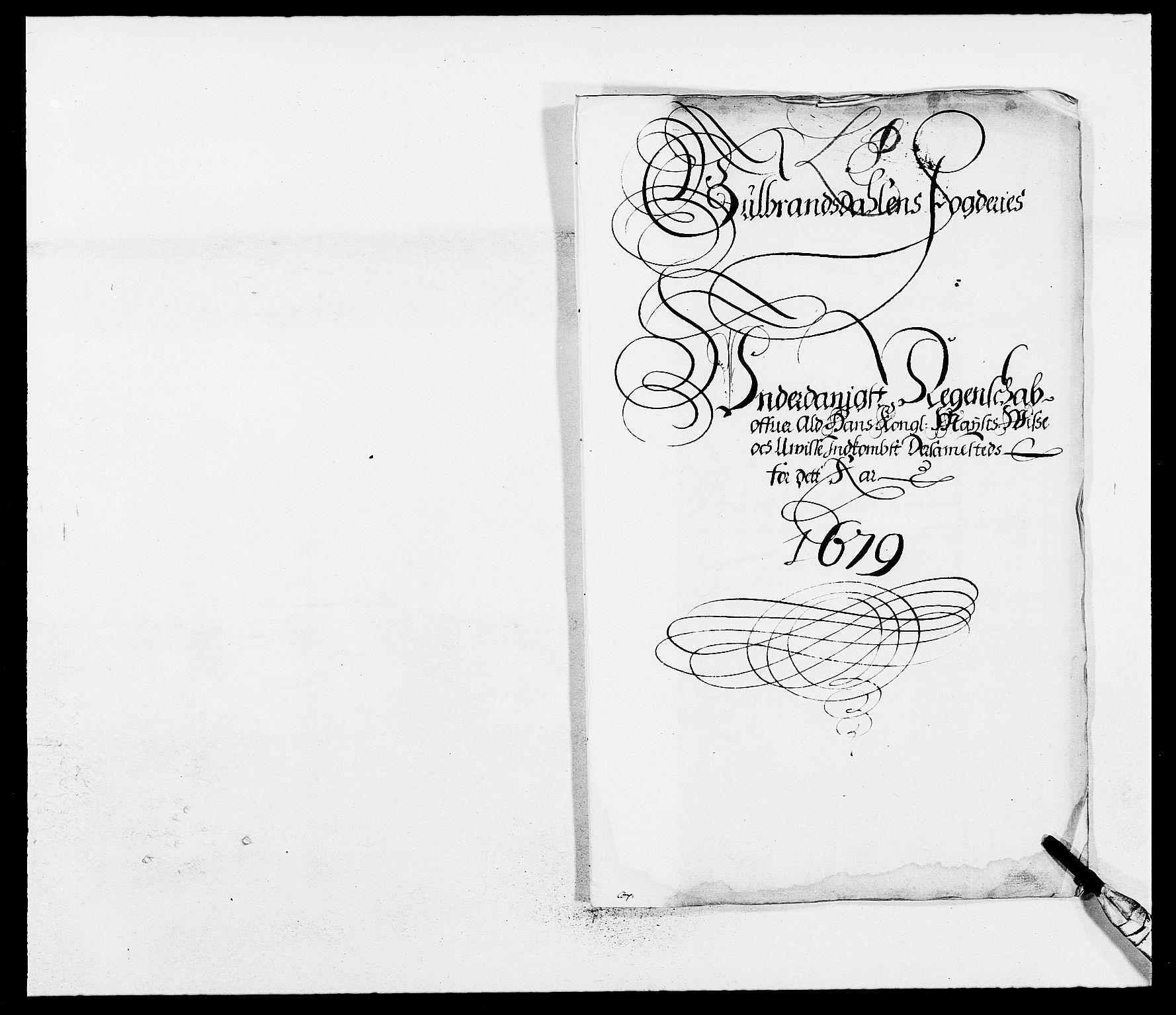 RA, Rentekammeret inntil 1814, Reviderte regnskaper, Fogderegnskap, R17/L1153: Fogderegnskap Gudbrandsdal, 1678-1679, s. 16