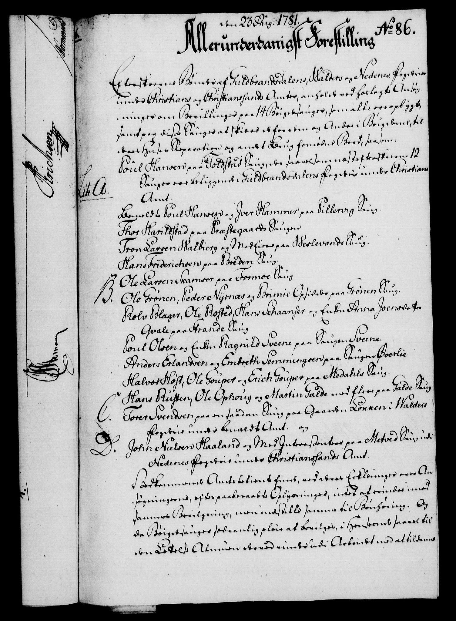 RA, Rentekammeret, Kammerkanselliet, G/Gf/Gfa/L0063: Norsk relasjons- og resolusjonsprotokoll (merket RK 52.63), 1781, s. 995