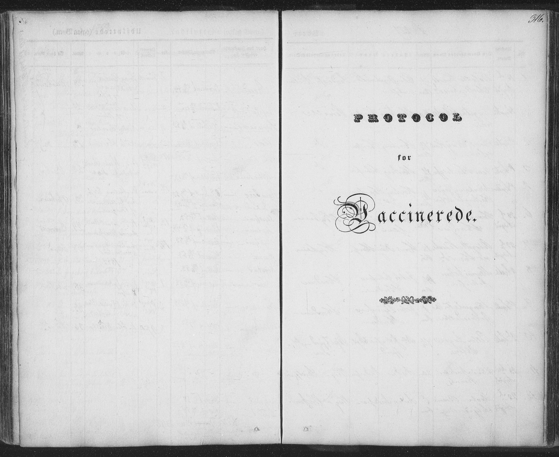 SAT, Ministerialprotokoller, klokkerbøker og fødselsregistre - Nordland, 885/L1202: Ministerialbok nr. 885A03, 1838-1859, s. 316