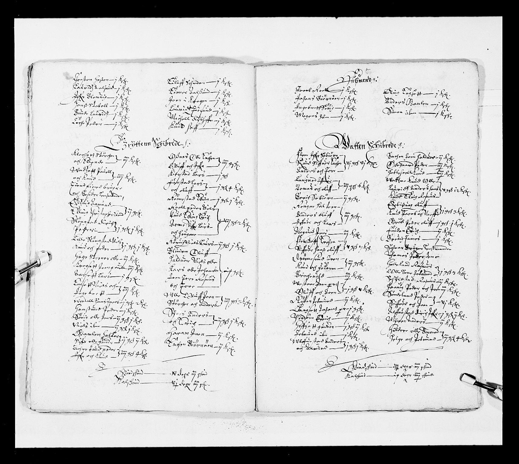 RA, Stattholderembetet 1572-1771, Ek/L0025: Jordebøker 1633-1658:, 1645-1646, s. 247