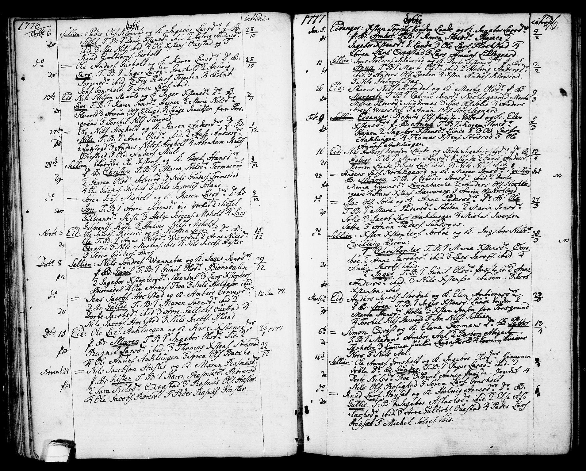 SAKO, Eidanger kirkebøker, F/Fa/L0006: Ministerialbok nr. 6, 1764-1814, s. 26