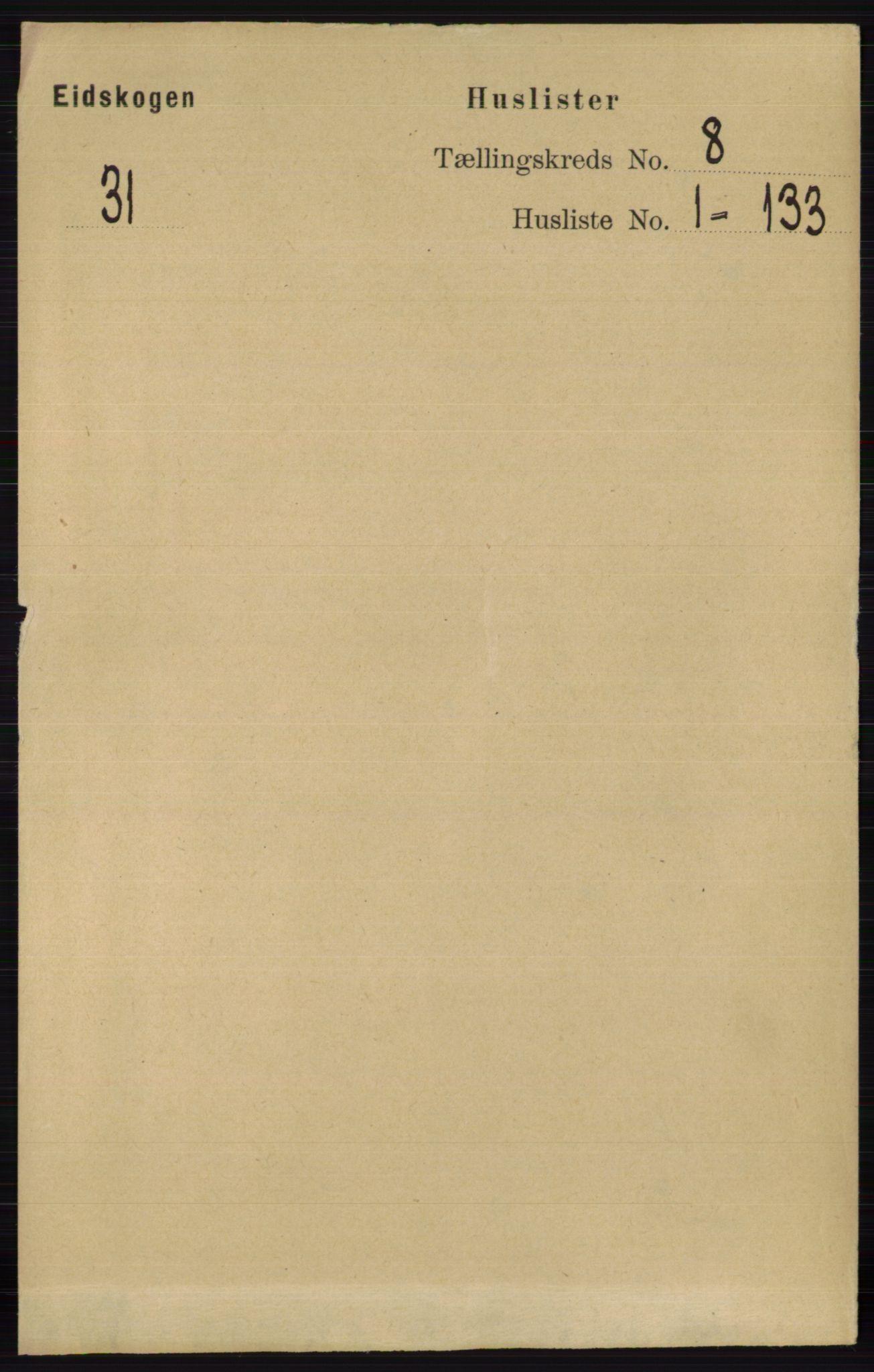 RA, Folketelling 1891 for 0420 Eidskog herred, 1891, s. 4420
