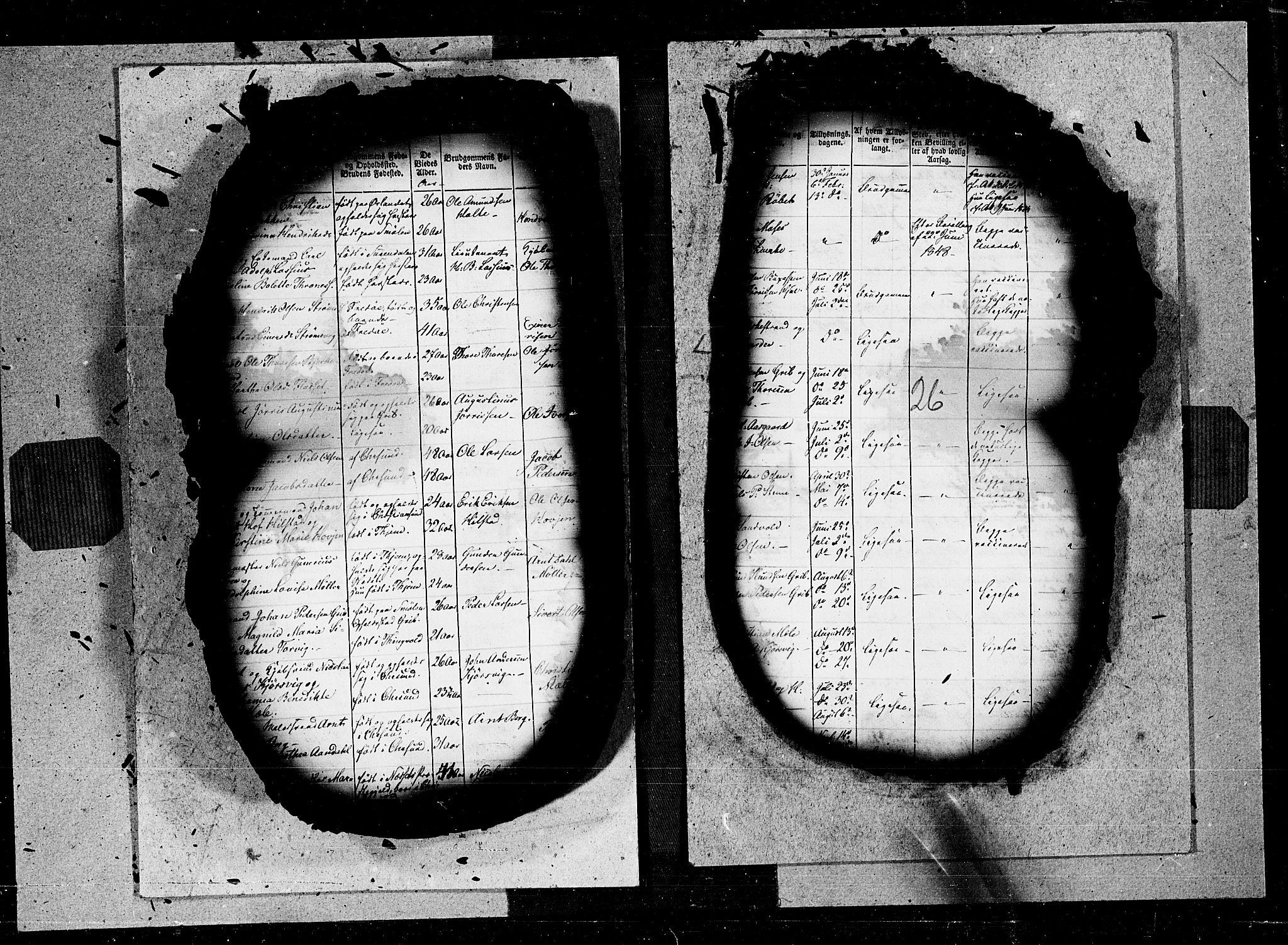 SAT, Ministerialprotokoller, klokkerbøker og fødselsregistre - Møre og Romsdal, 572/L0844: Ministerialbok nr. 572A07, 1842-1855, s. 26