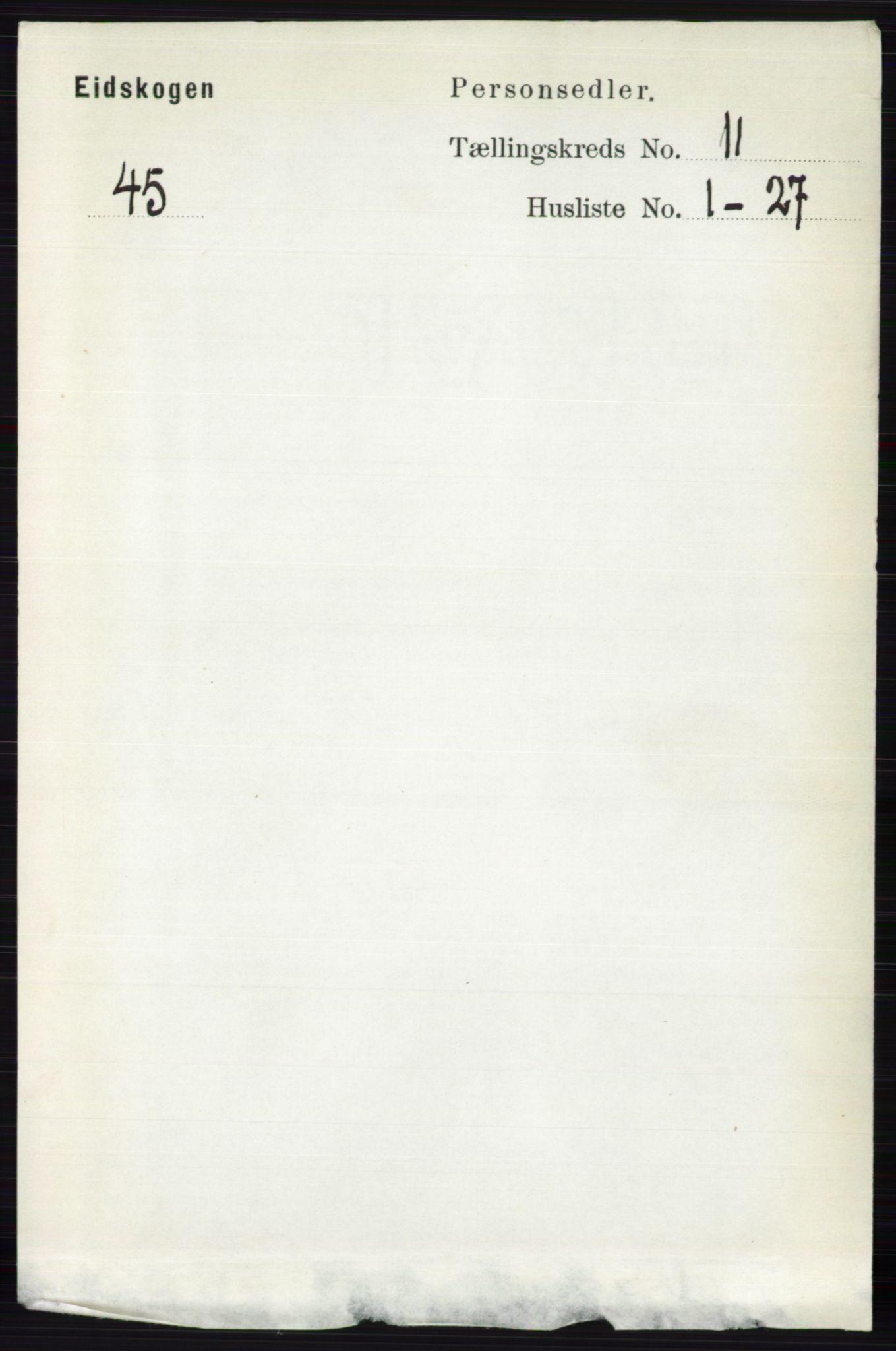 RA, Folketelling 1891 for 0420 Eidskog herred, 1891, s. 6763