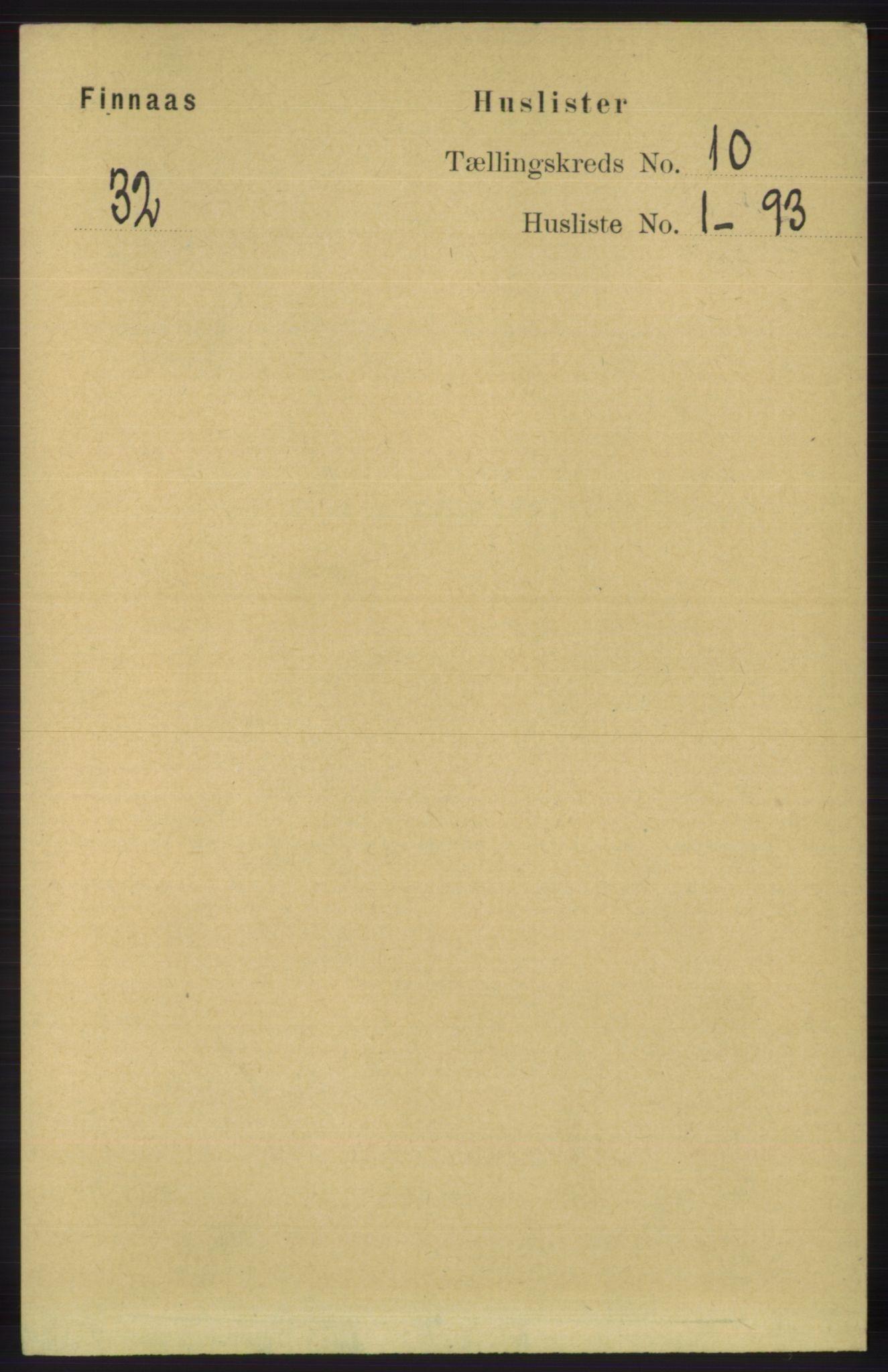 RA, Folketelling 1891 for 1218 Finnås herred, 1891, s. 4421