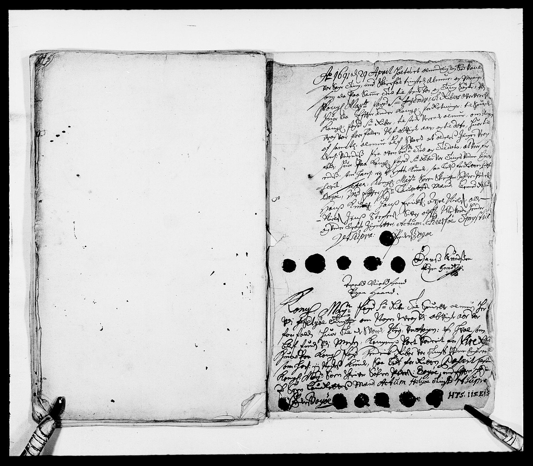 RA, Rentekammeret inntil 1814, Reviderte regnskaper, Fogderegnskap, R68/L4751: Fogderegnskap Senja og Troms, 1690-1693, s. 65