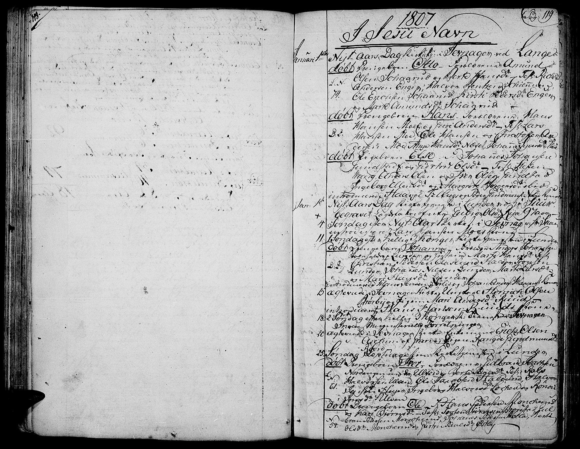 SAH, Jevnaker prestekontor, Ministerialbok nr. 4, 1800-1861, s. 118-119