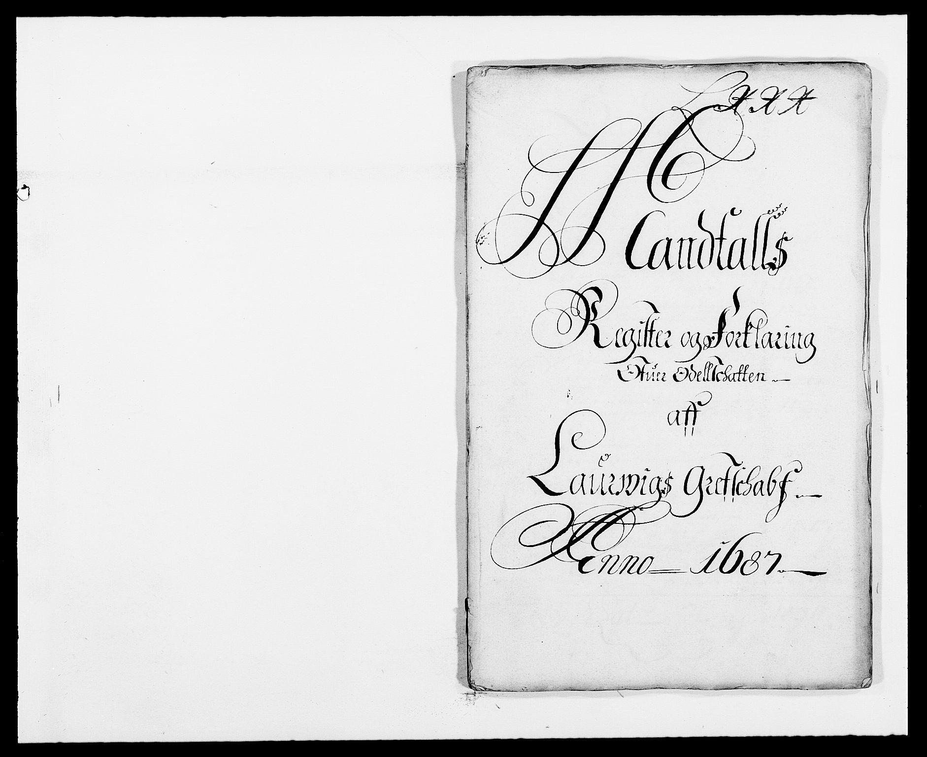 RA, Rentekammeret inntil 1814, Reviderte regnskaper, Fogderegnskap, R33/L1970: Fogderegnskap Larvik grevskap, 1675-1687, s. 318