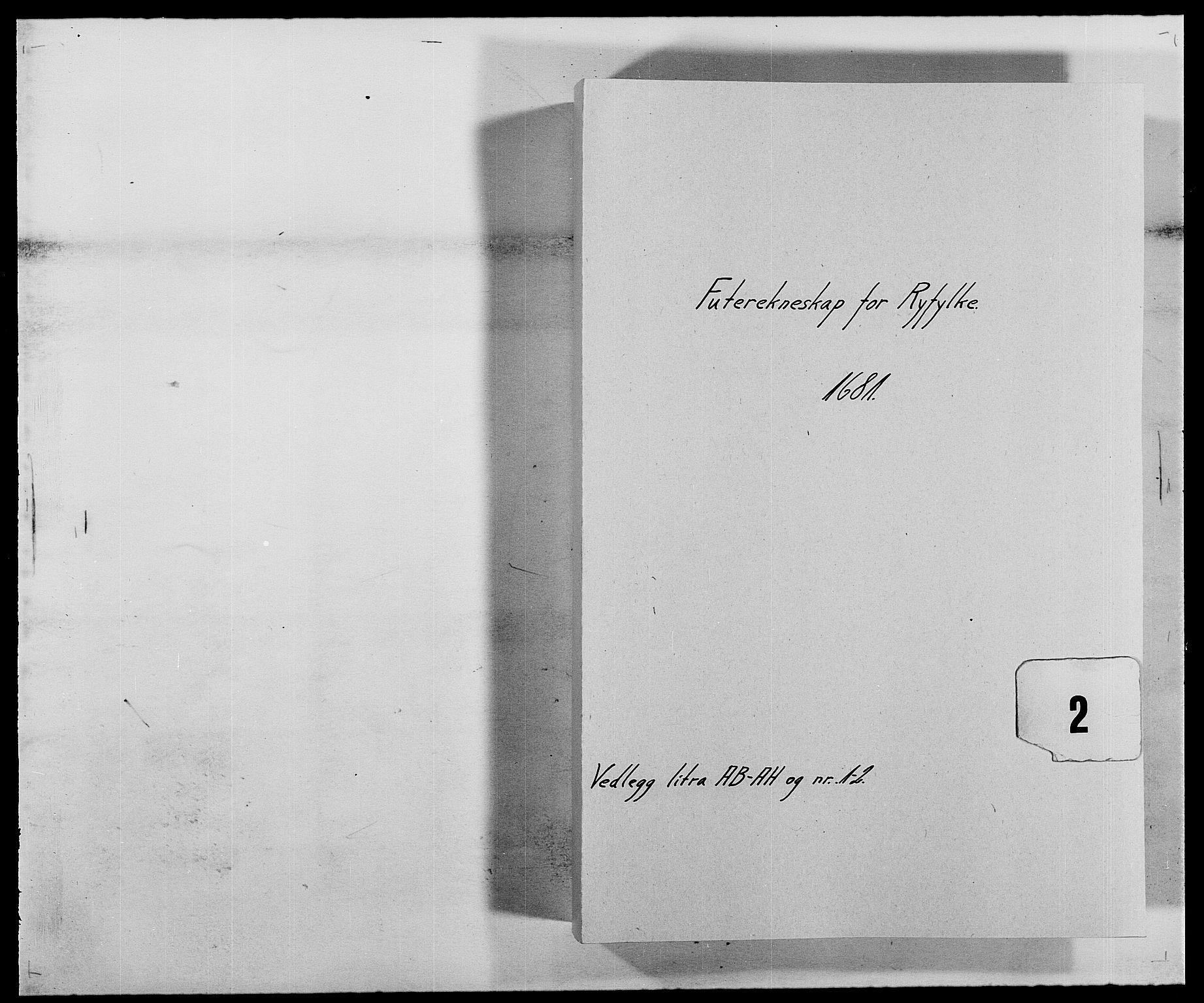 RA, Rentekammeret inntil 1814, Reviderte regnskaper, Fogderegnskap, R47/L2852: Fogderegnskap Ryfylke, 1681, s. 1