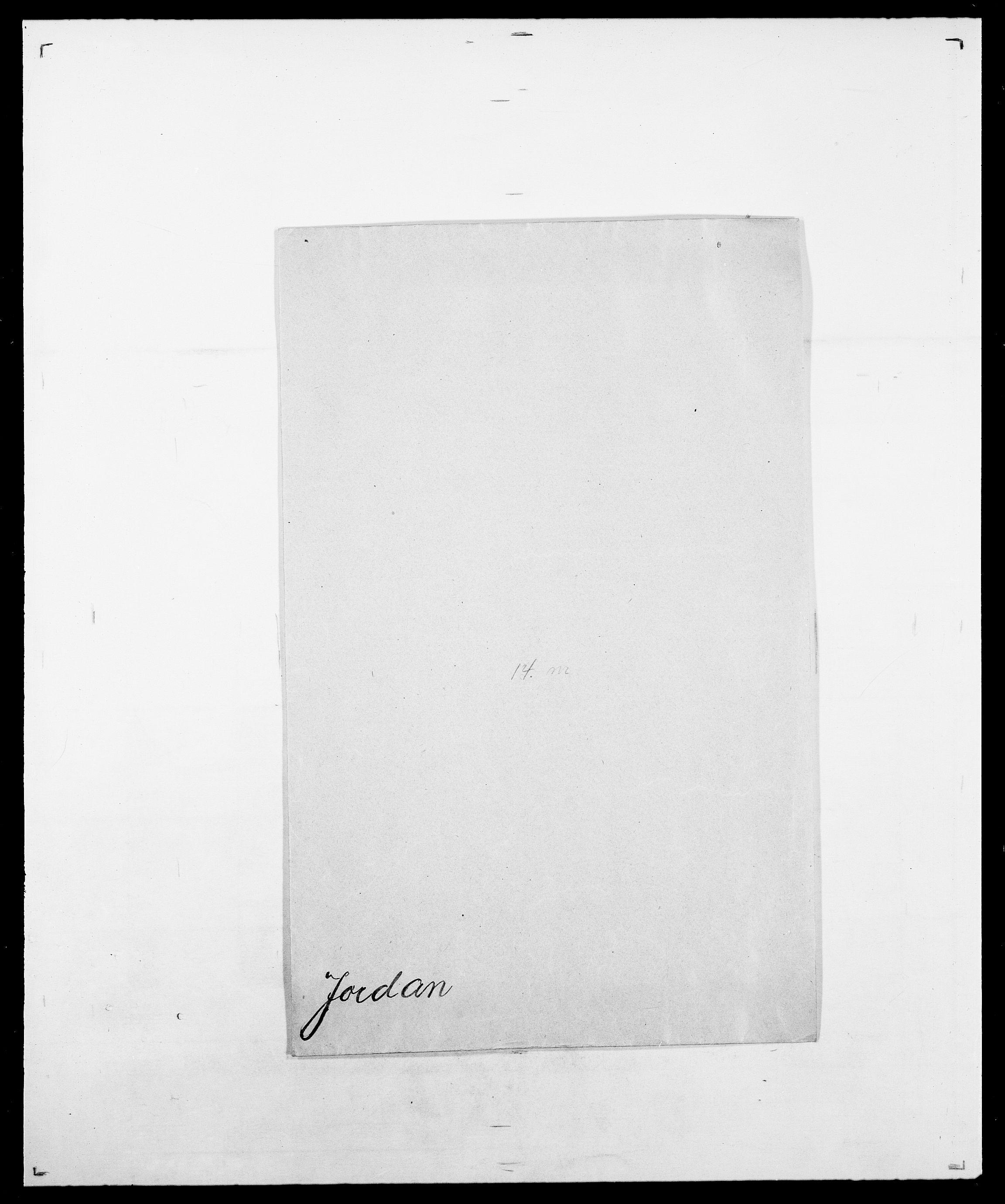 SAO, Delgobe, Charles Antoine - samling, D/Da/L0019: van der Hude - Joys, s. 890