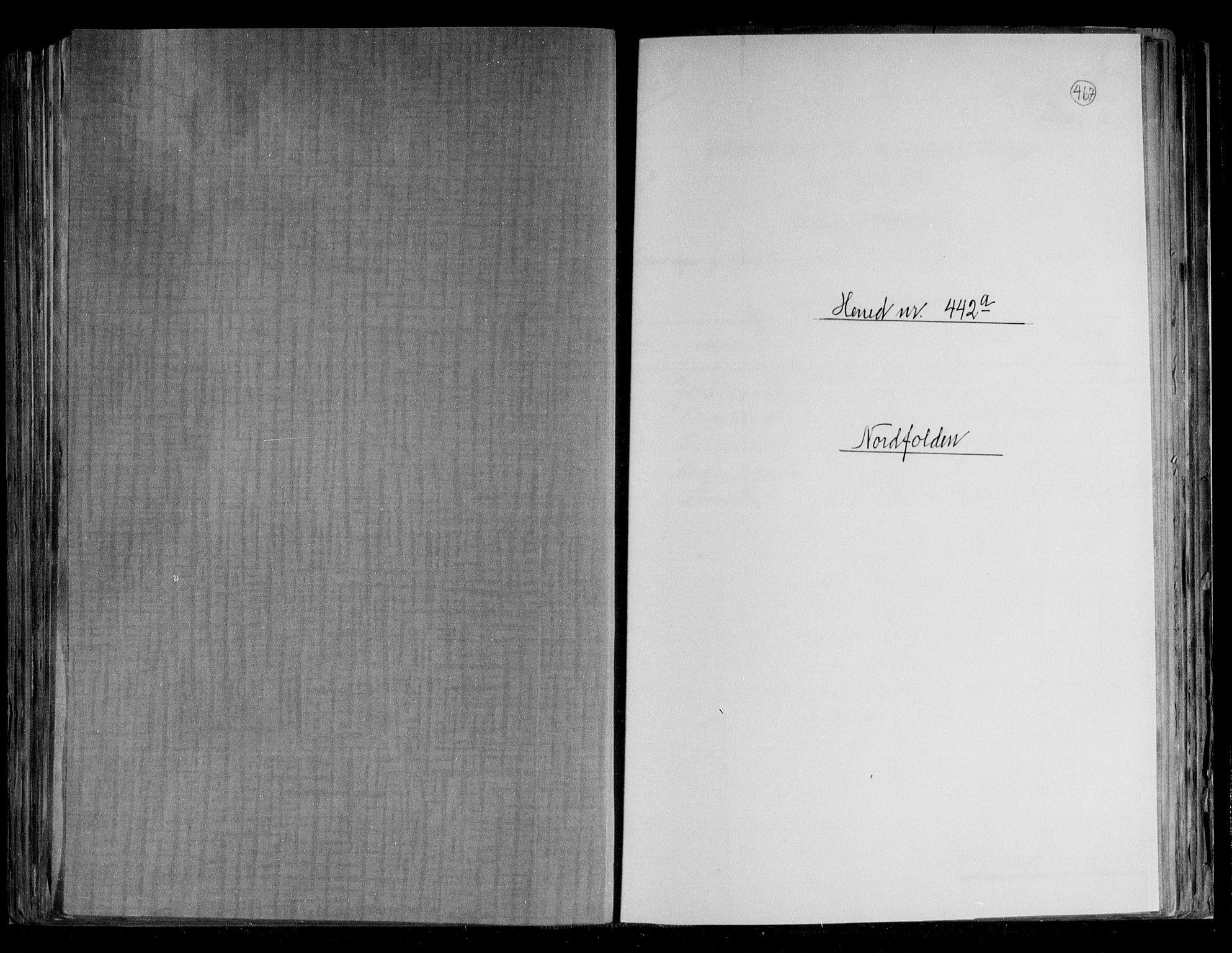 RA, Folketelling 1891 for 1846 Nordfold-Kjerringøy herred, 1891, s. 1