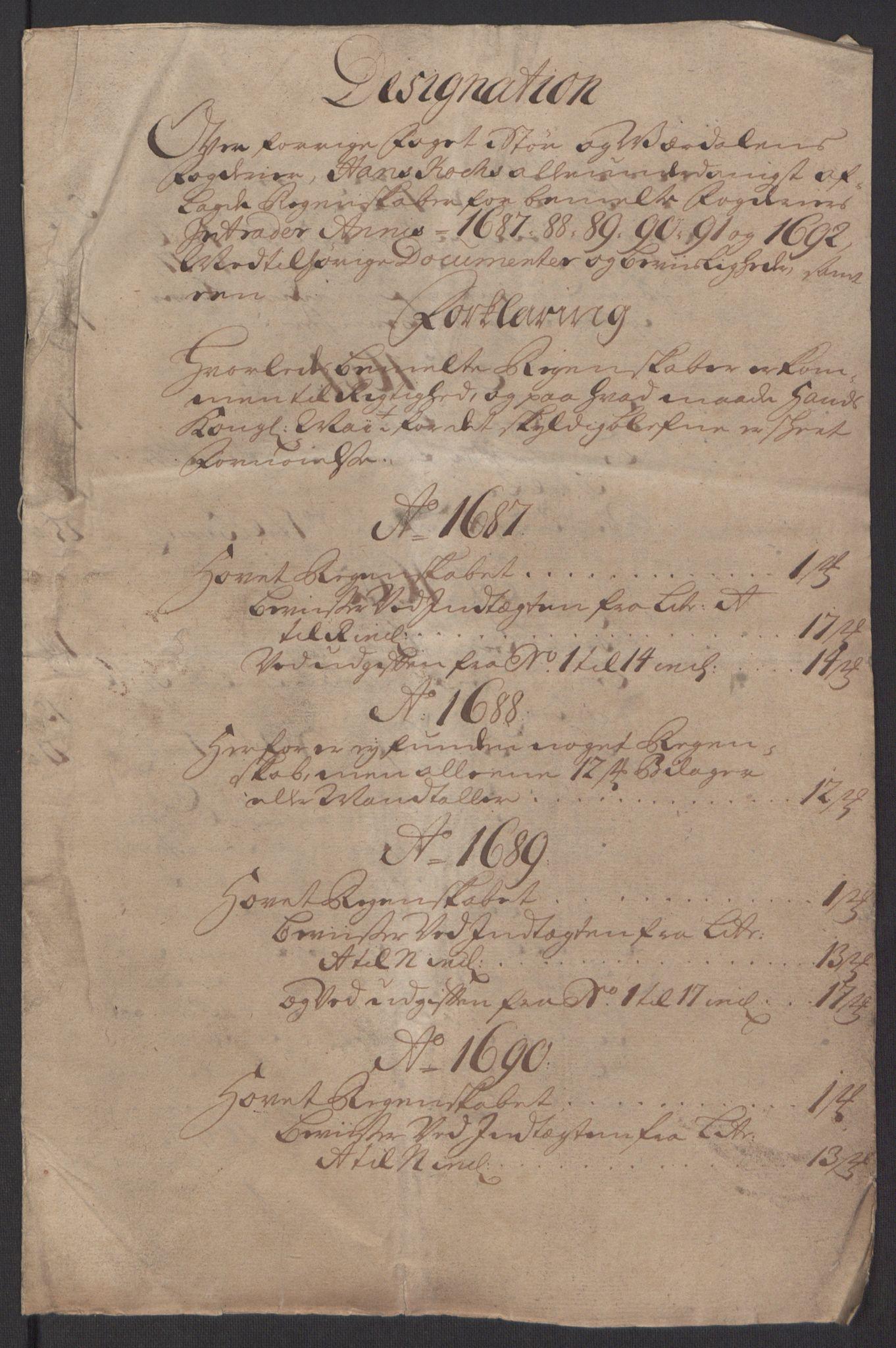 RA, Rentekammeret inntil 1814, Reviderte regnskaper, Fogderegnskap, R62/L4185: Fogderegnskap Stjørdal og Verdal, 1692, s. 343