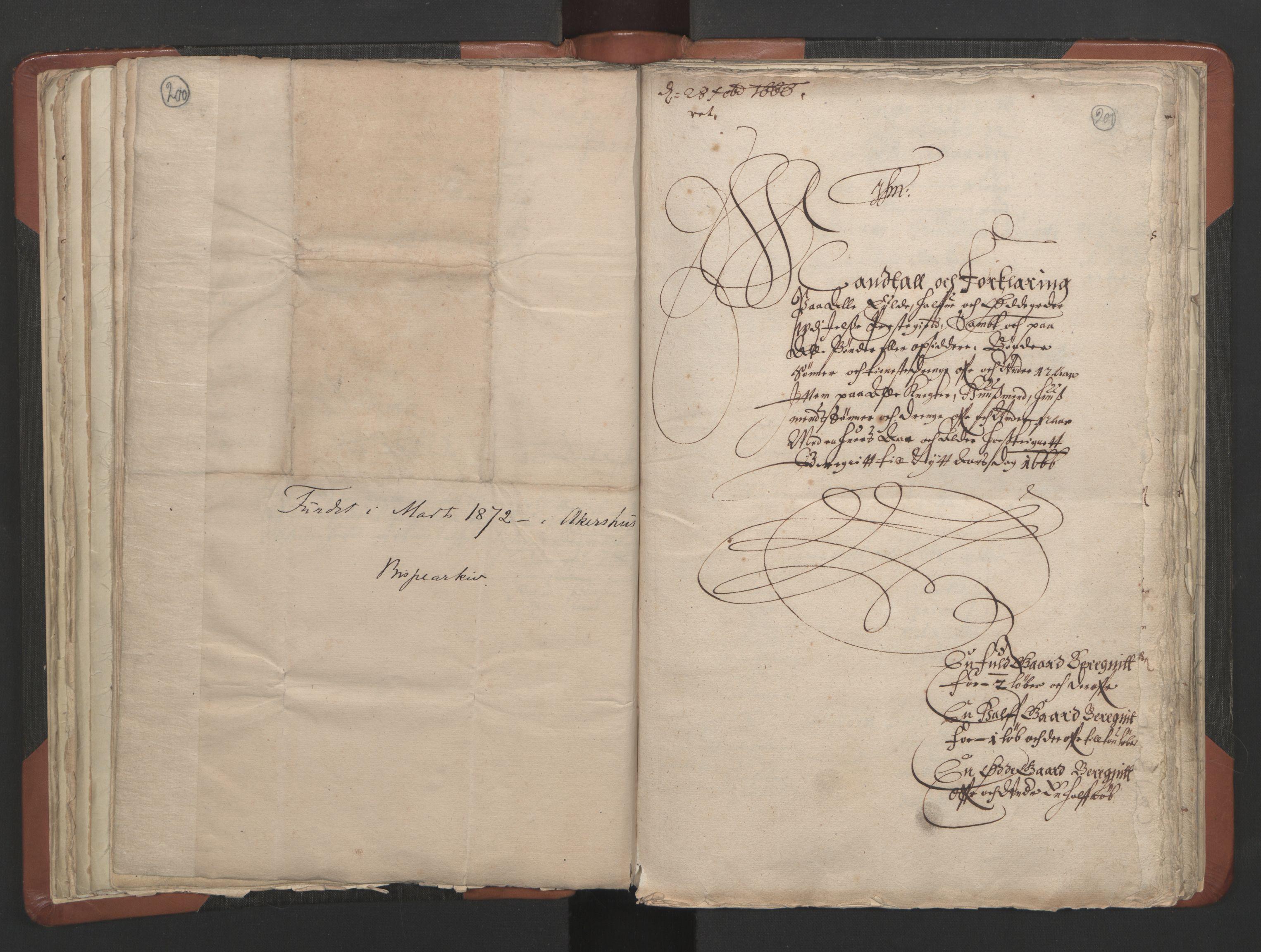 RA, Sogneprestenes manntall 1664-1666, nr. 19: Ryfylke prosti, 1664-1666, s. 200-201