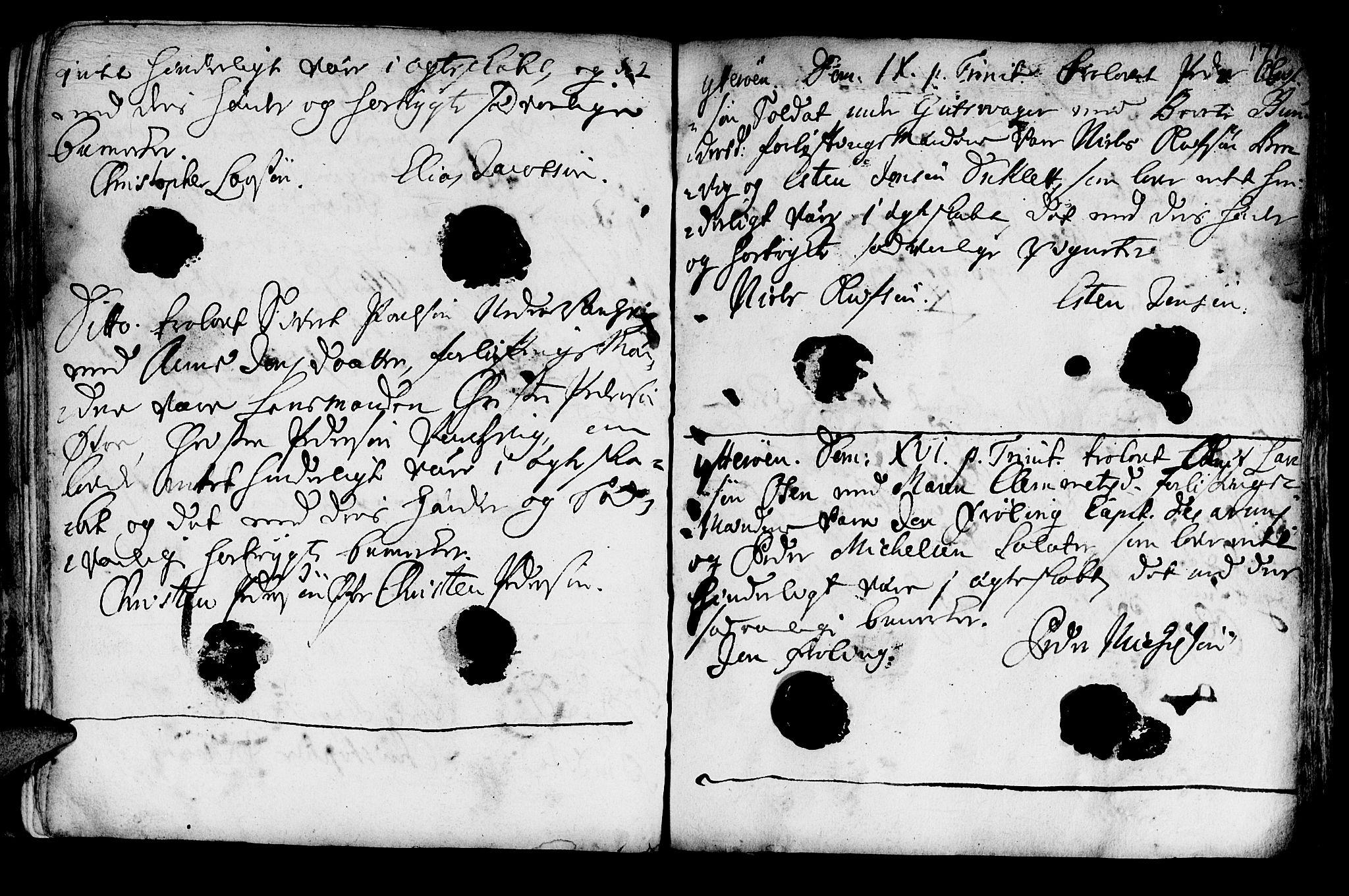 SAT, Ministerialprotokoller, klokkerbøker og fødselsregistre - Nord-Trøndelag, 722/L0215: Ministerialbok nr. 722A02, 1718-1755, s. 171