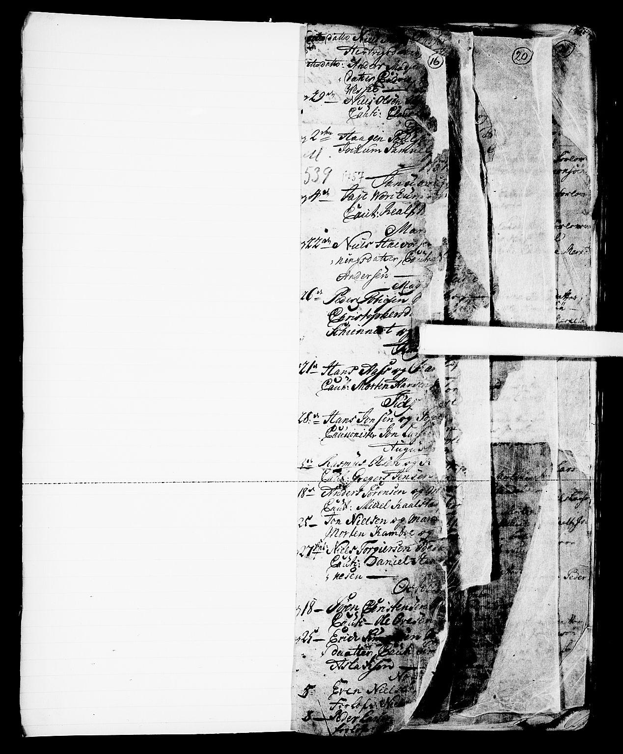 SAKO, Skien kirkebøker, G/Ga/L0001: Klokkerbok nr. 1, 1756-1791, s. 16