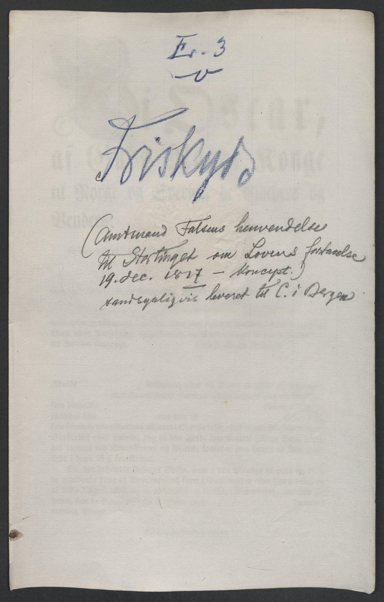 RA, Christie, Wilhelm Frimann Koren, F/L0005, 1815-1816, s. 587