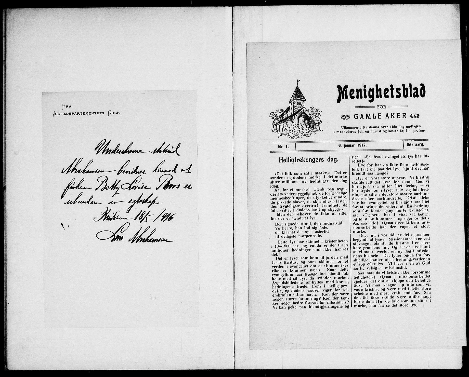 SAO, Gamle Aker prestekontor Kirkebøker, H/L0004: Lysningsprotokoll nr. 4, 1909-1918