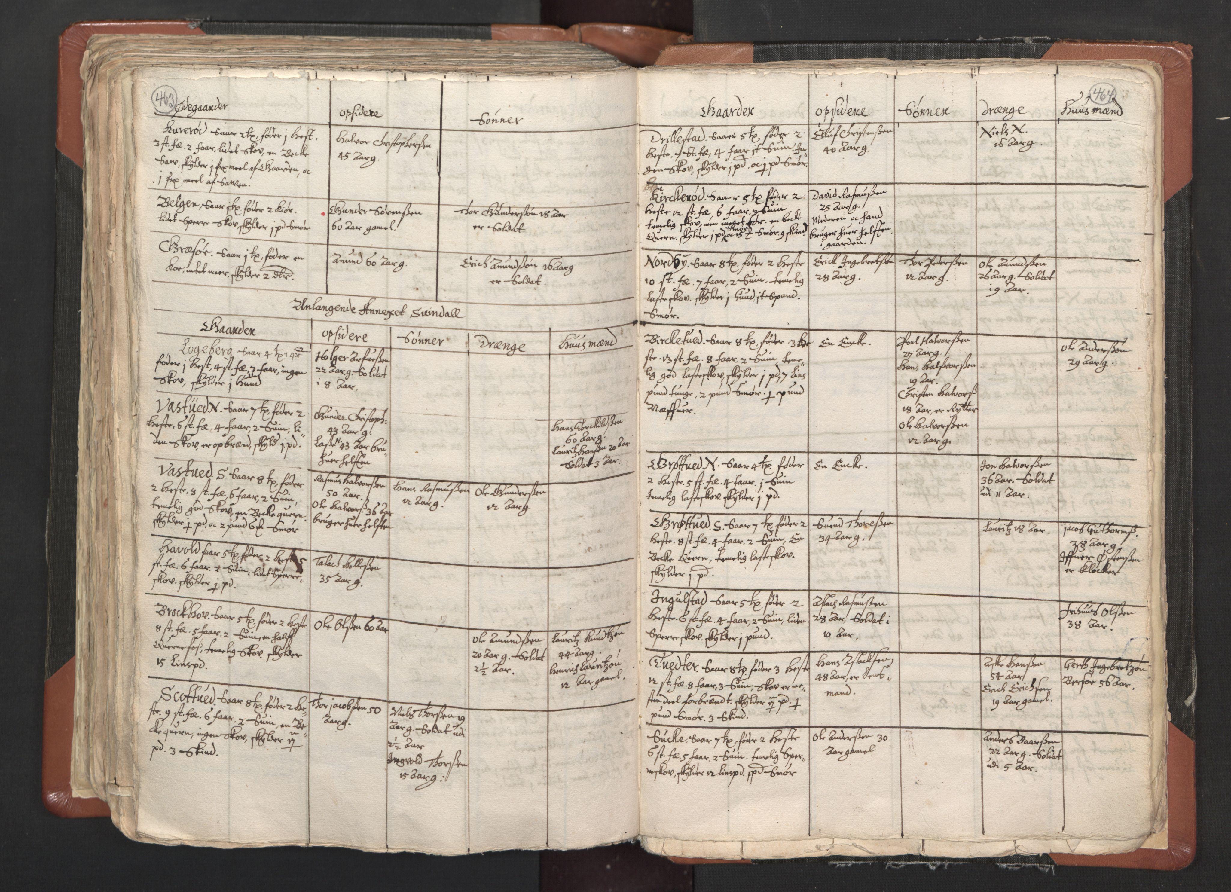 RA, Sogneprestenes manntall 1664-1666, nr. 1: Nedre Borgesyssel prosti, 1664-1666, s. 463-464